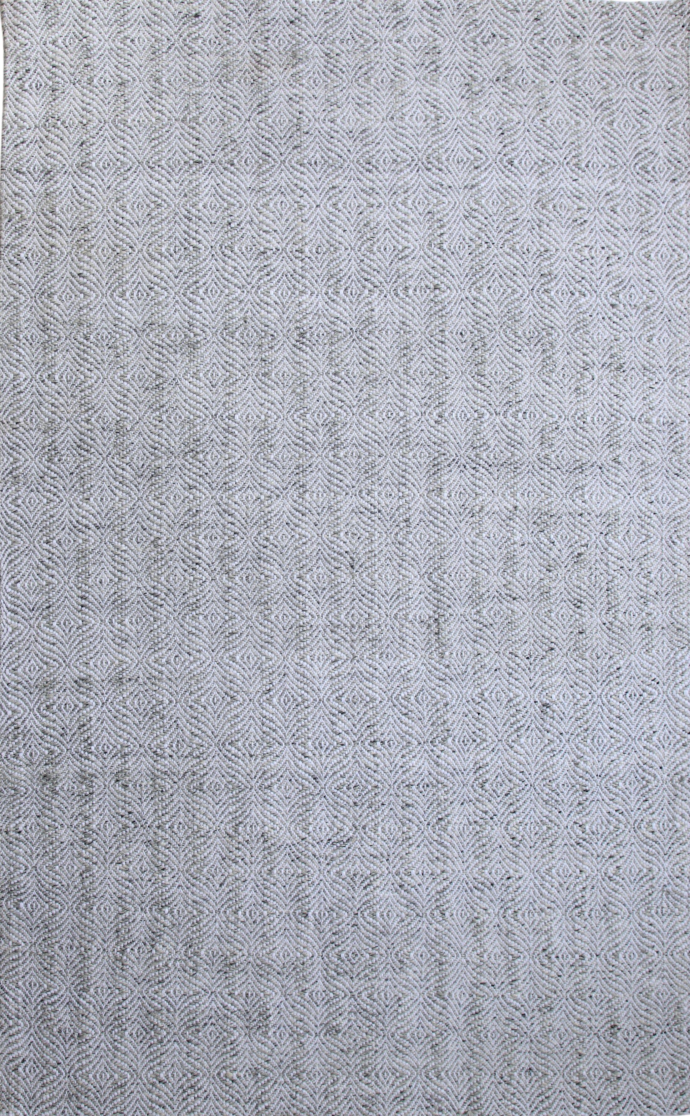 Elbridge Hand-Woven Gray/Ivory Area Rug Rug Size: Rectangle 5' x 8'