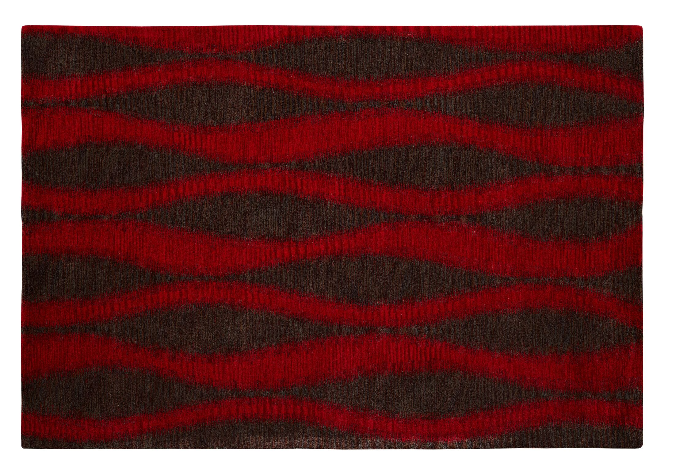 Epic Red/Grey Rug Rug Size: Rectangle 8' x 11'