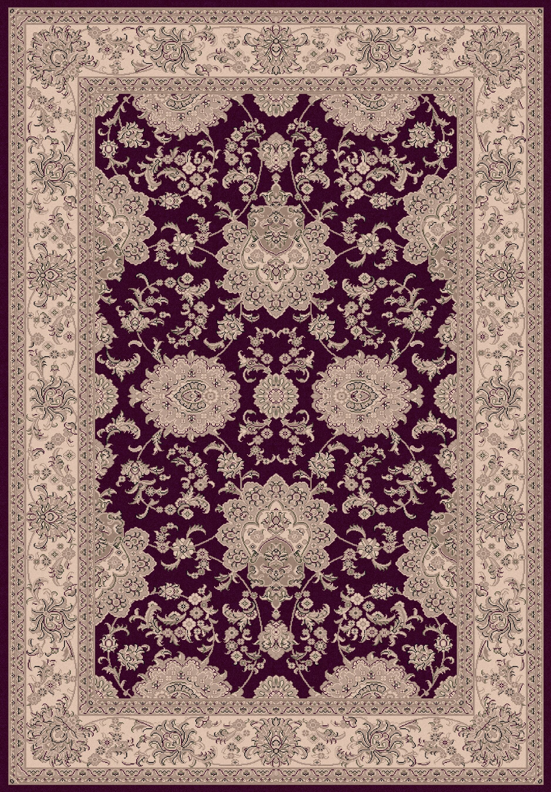 Atterbury Agra Red Rug Rug Size: Rectangle 9'2
