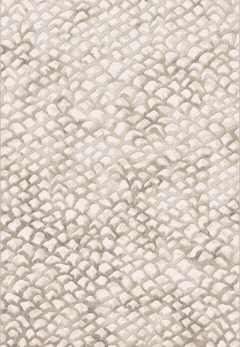 Brumback Ivory Area Rug Rug Size: Rectangle 5'3