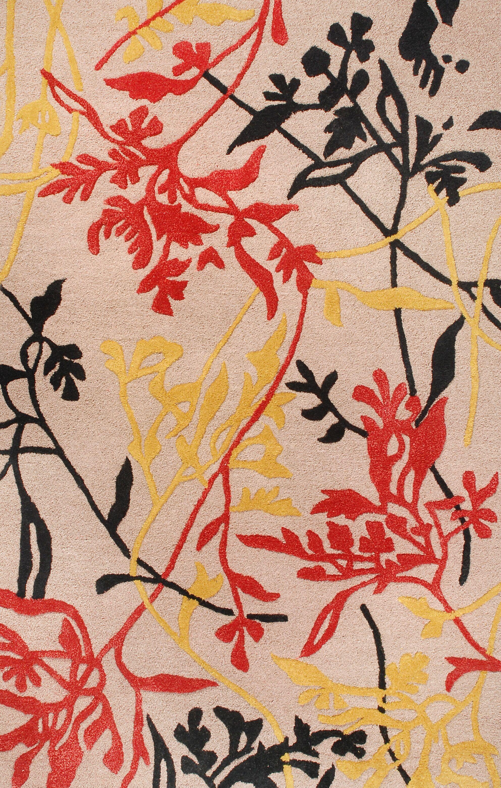 Florence Taupe Rug Rug Size: Rectangle 5' x 8'