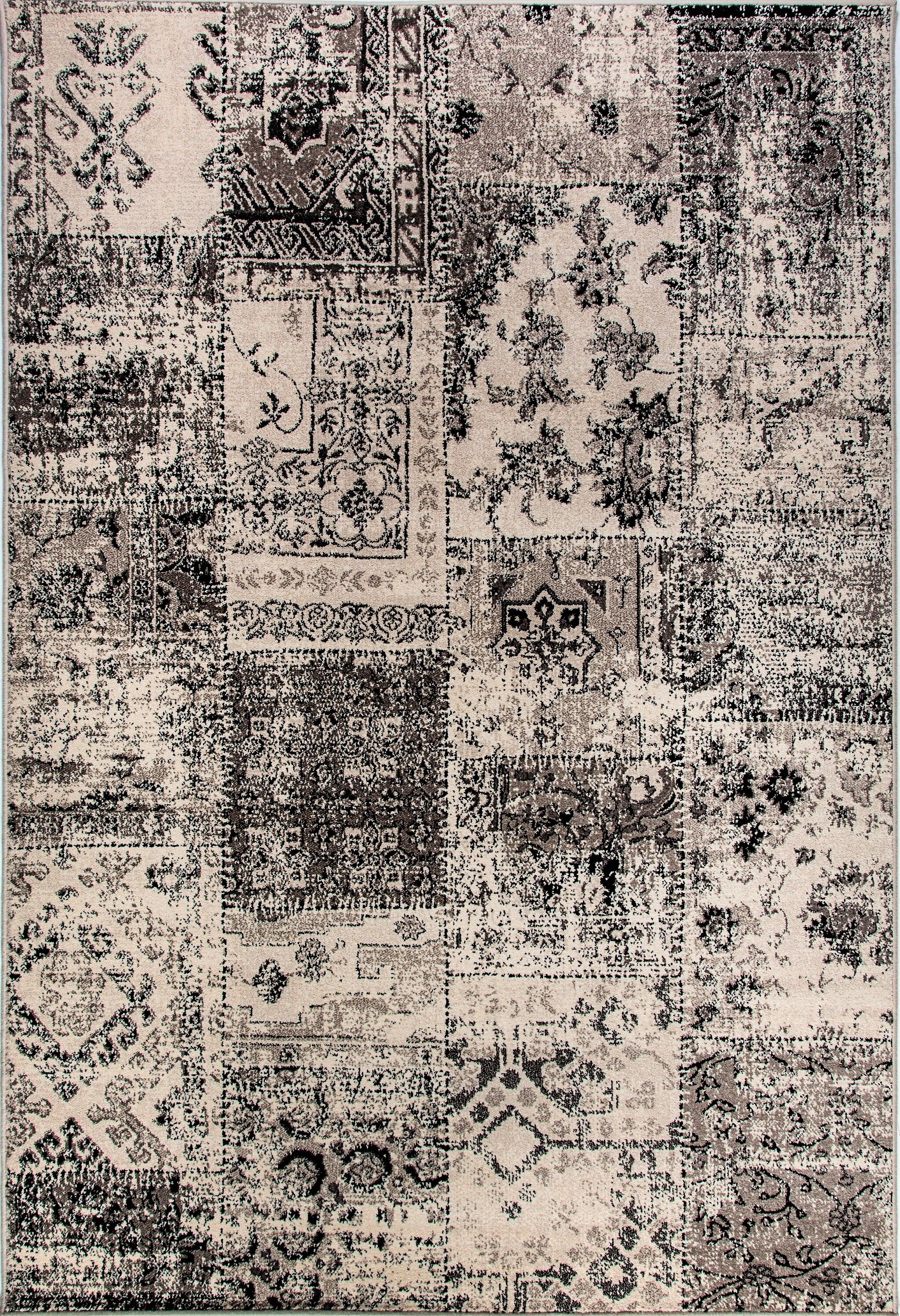 Area Rugs Fleener Blacksilver Area Rug March 2019