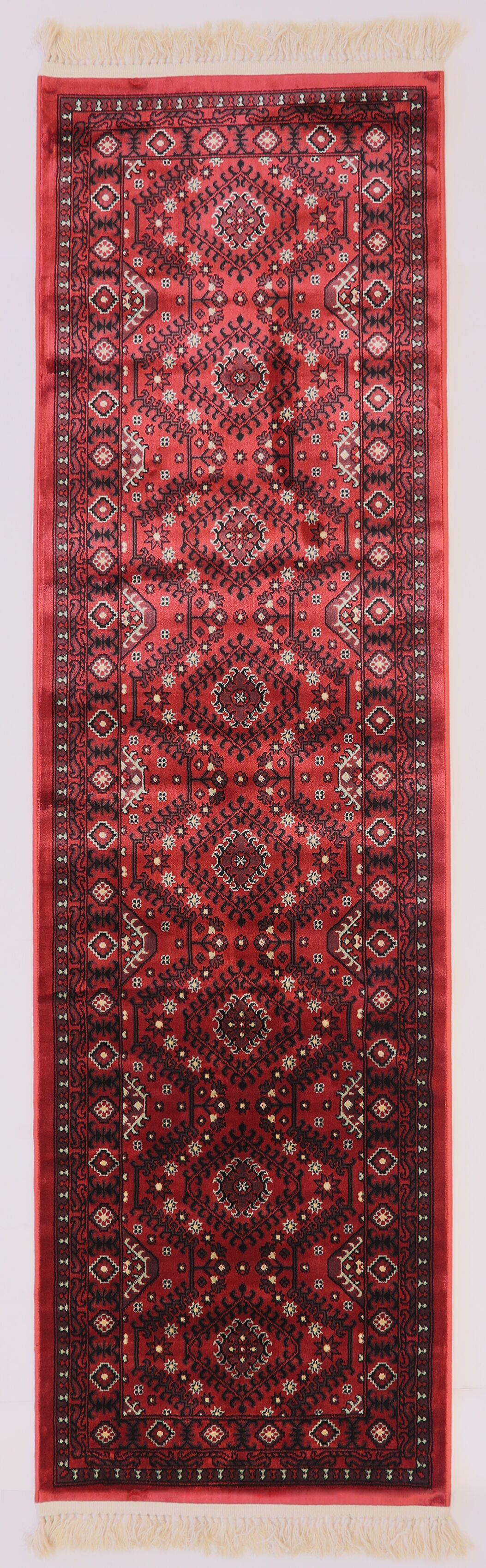 Solange Red Area Rug Rug Size: Rectangle 2'2