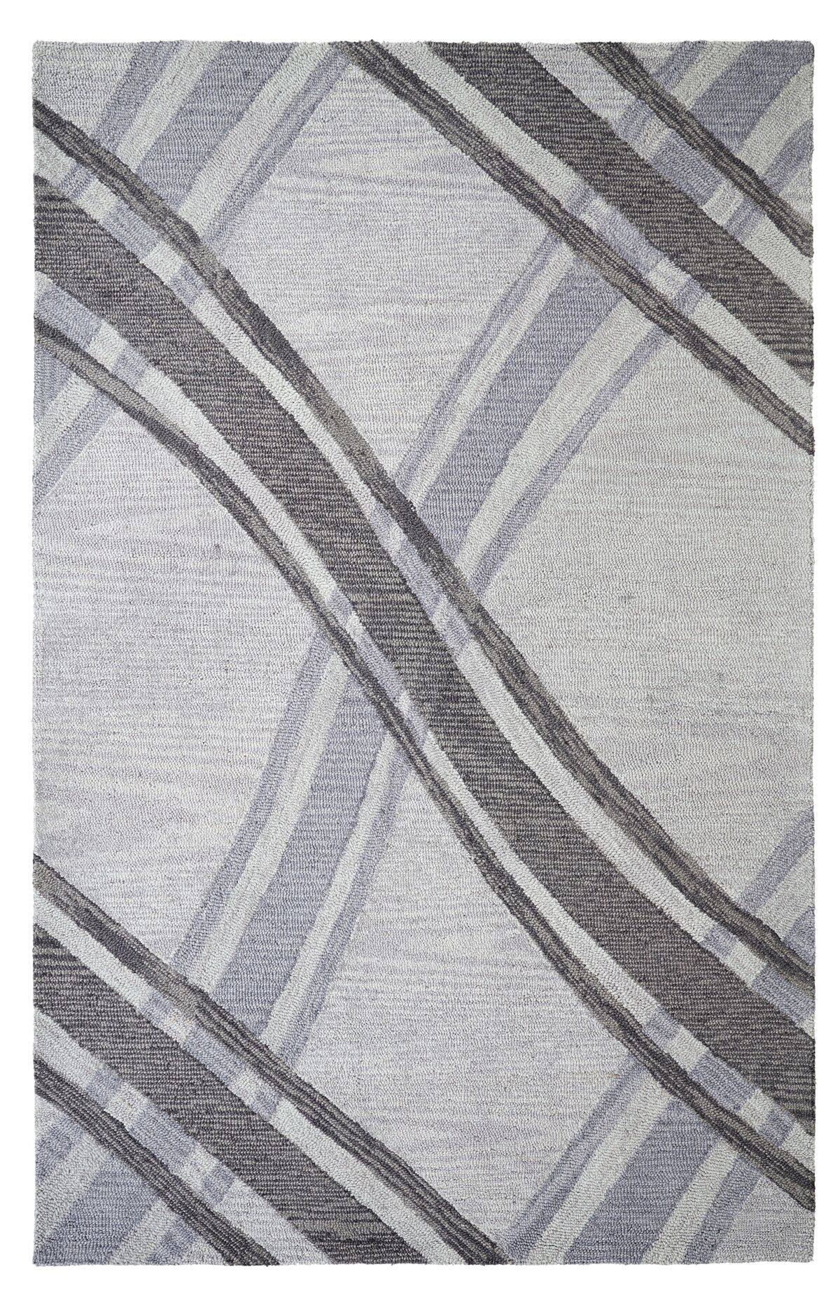 Dream Handwoven Flatweave Wool Gray Area Rug Rug Size: Rectangle 5' x 8'
