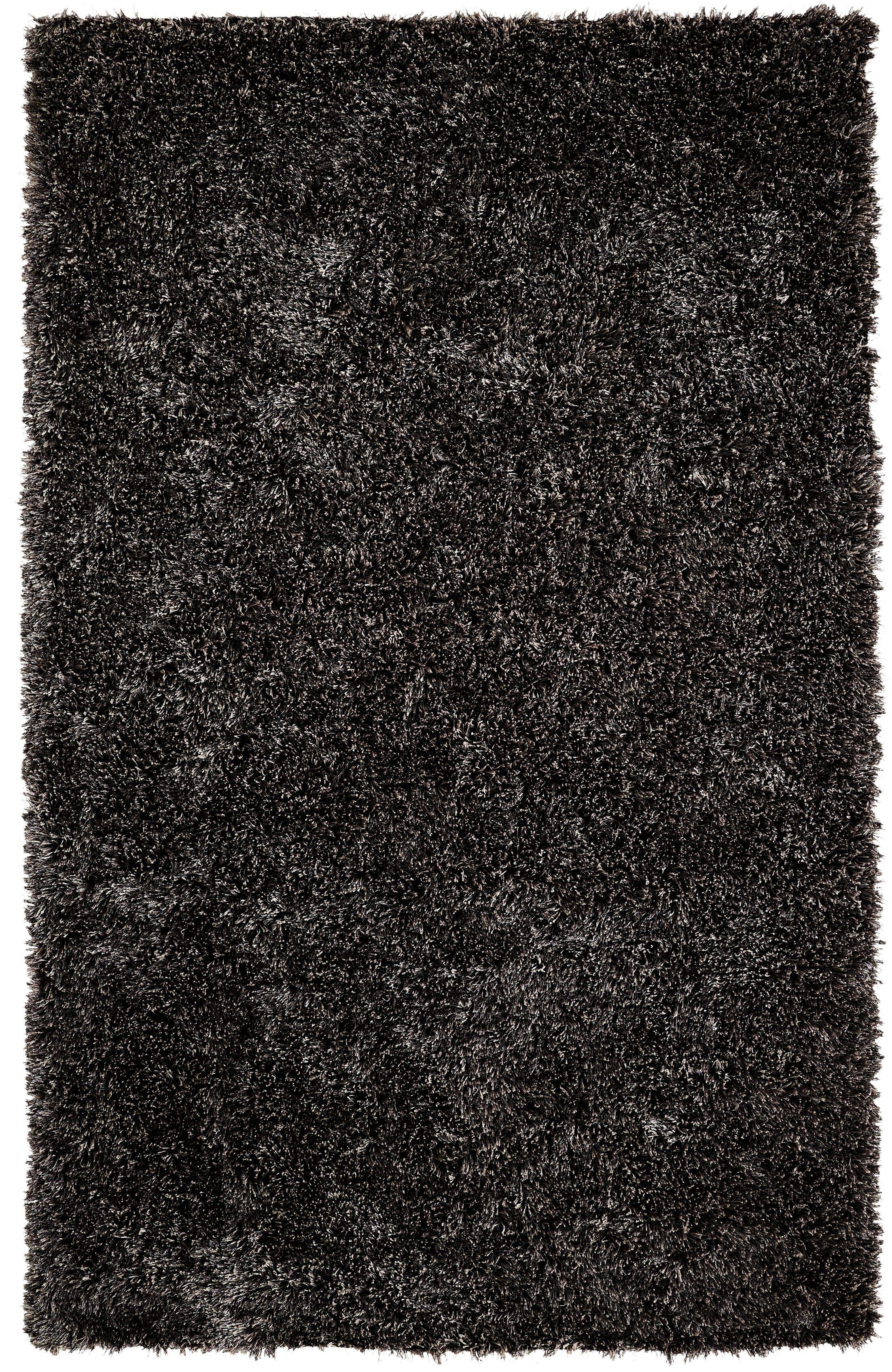 Makawee Black/Grey Rug Rug Size: Rectangle 5' x 8'