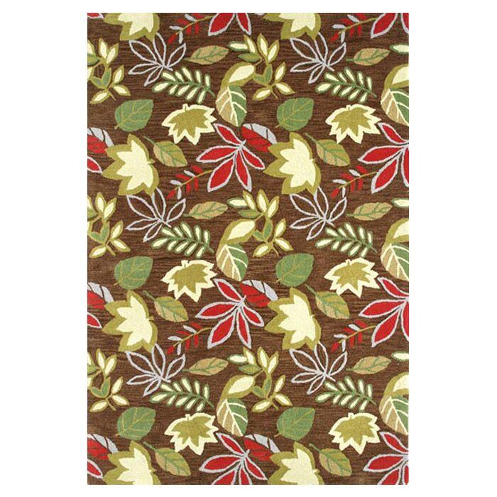 Florence Brown Rug Rug Size: Rectangle 4' x 6'