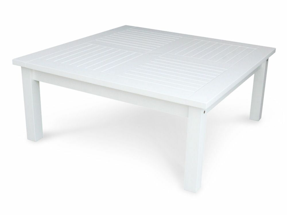 Douglas Nance White Coffee Table