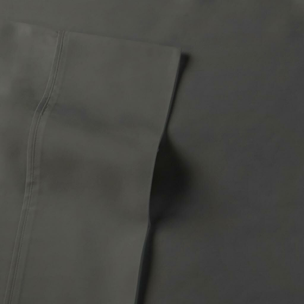 Rayon from Bamboo Sateen Premium 510 Thread Count Sheet Set Size: Queen, Color: Gunmetal