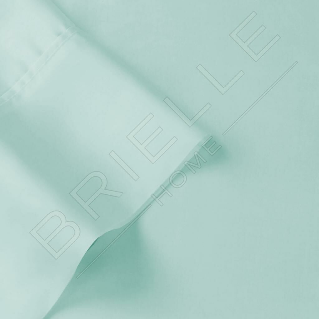 100% Egyptian Quality Cotton Premium 1000 Thread Count Sheet Set Size: King, Color: Mint