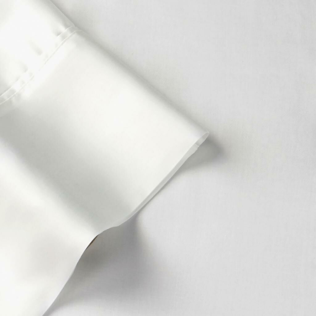 100% Egyptian Quality Cotton Premium 1000 Thread Count Sheet Set Color: White, Size: Queen