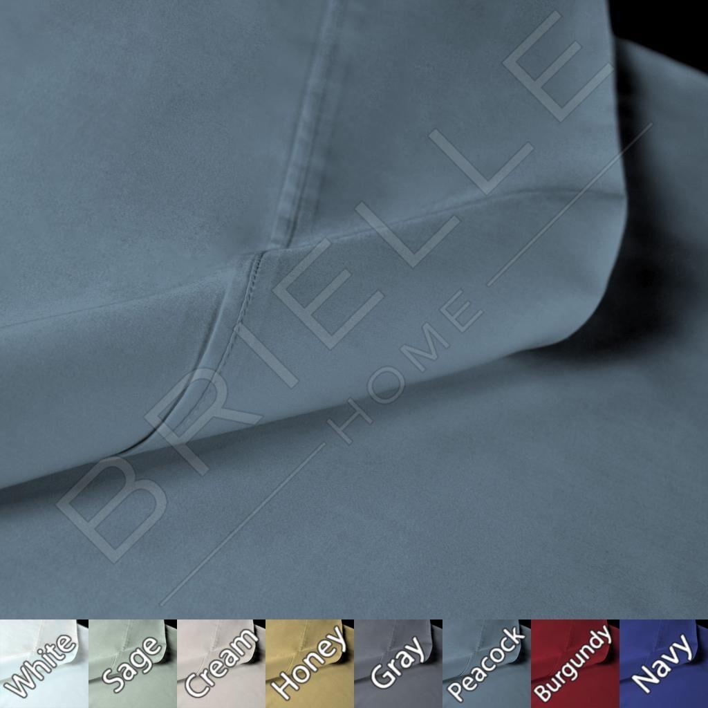 Sateen 100% Modal 300 Thread Count Sheet Set Size: King, Color: Peacock