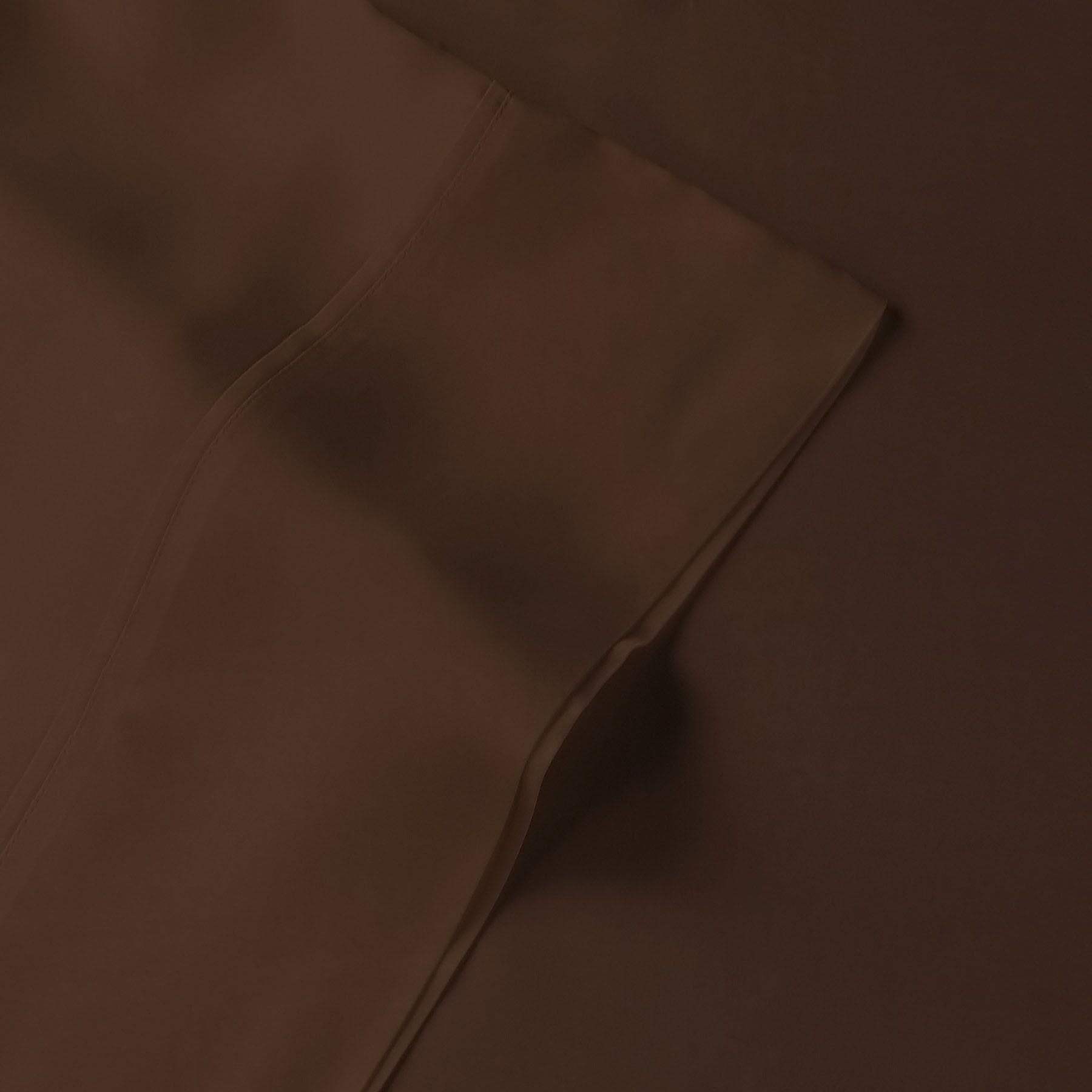 Rayon from Bamboo 300 Thread Count Sheet Set Size: California King, Color: Brown