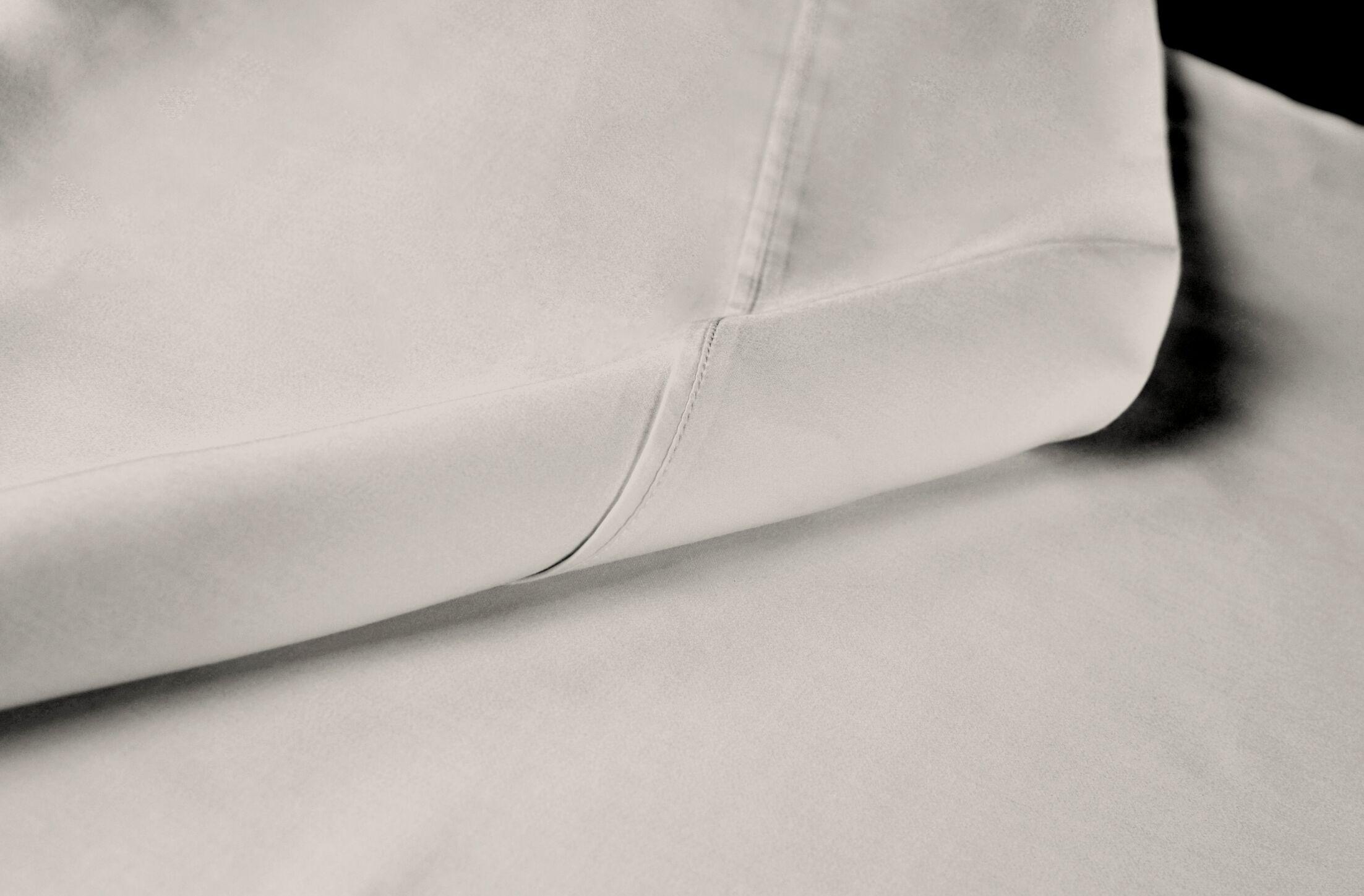 Sateen 100% Modal 300 Thread Count Sheet Set Size: King, Color: Cream