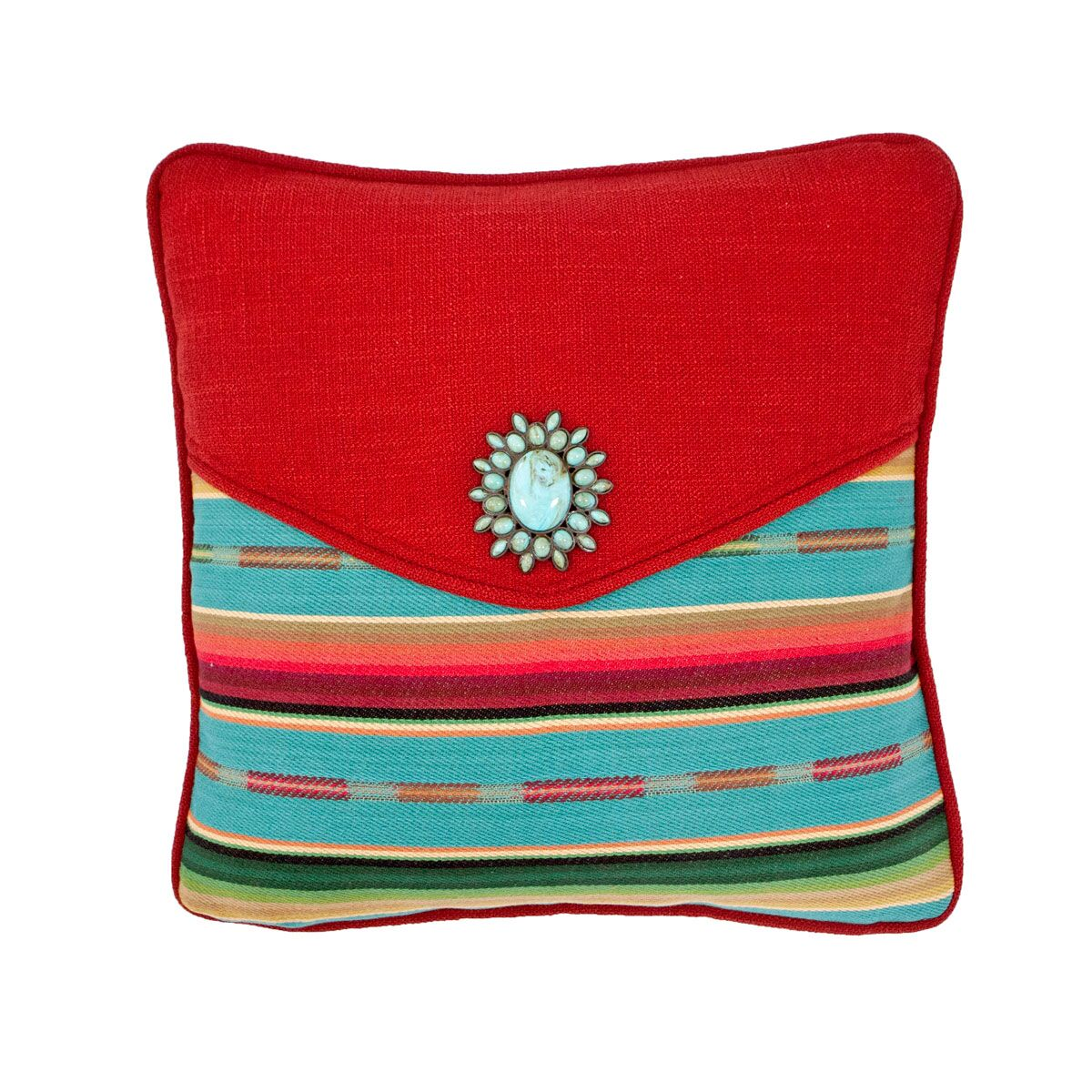Laredo Envelope Throw Pillow Size: 14