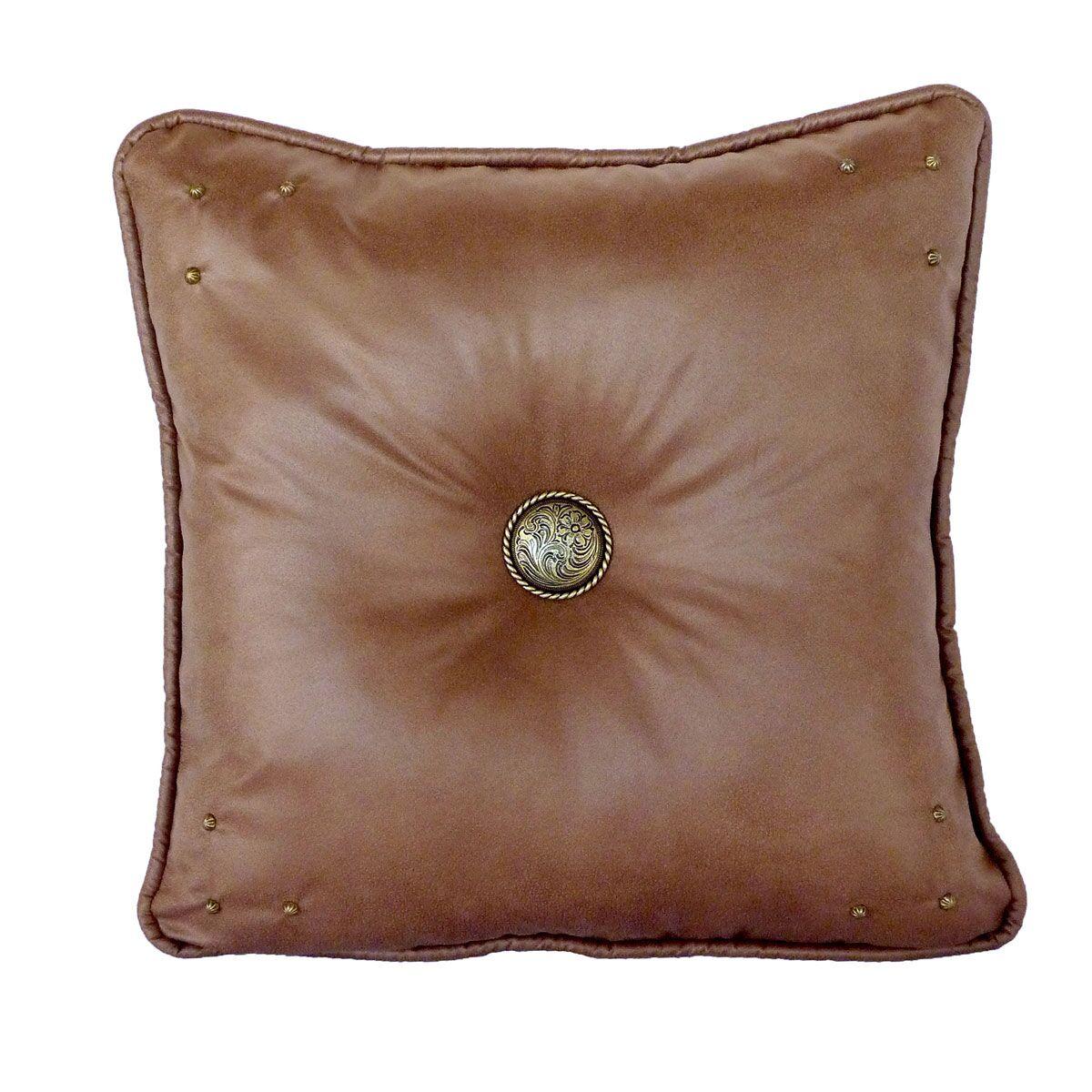 Safari Throw Pillow Color: Saddle / Hemsworth