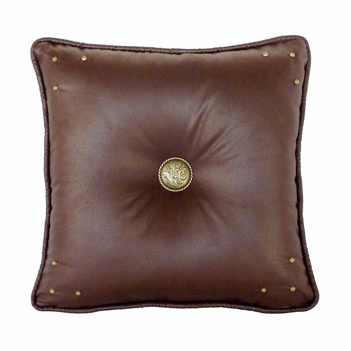 Safari Throw Pillow Color: Chocolate