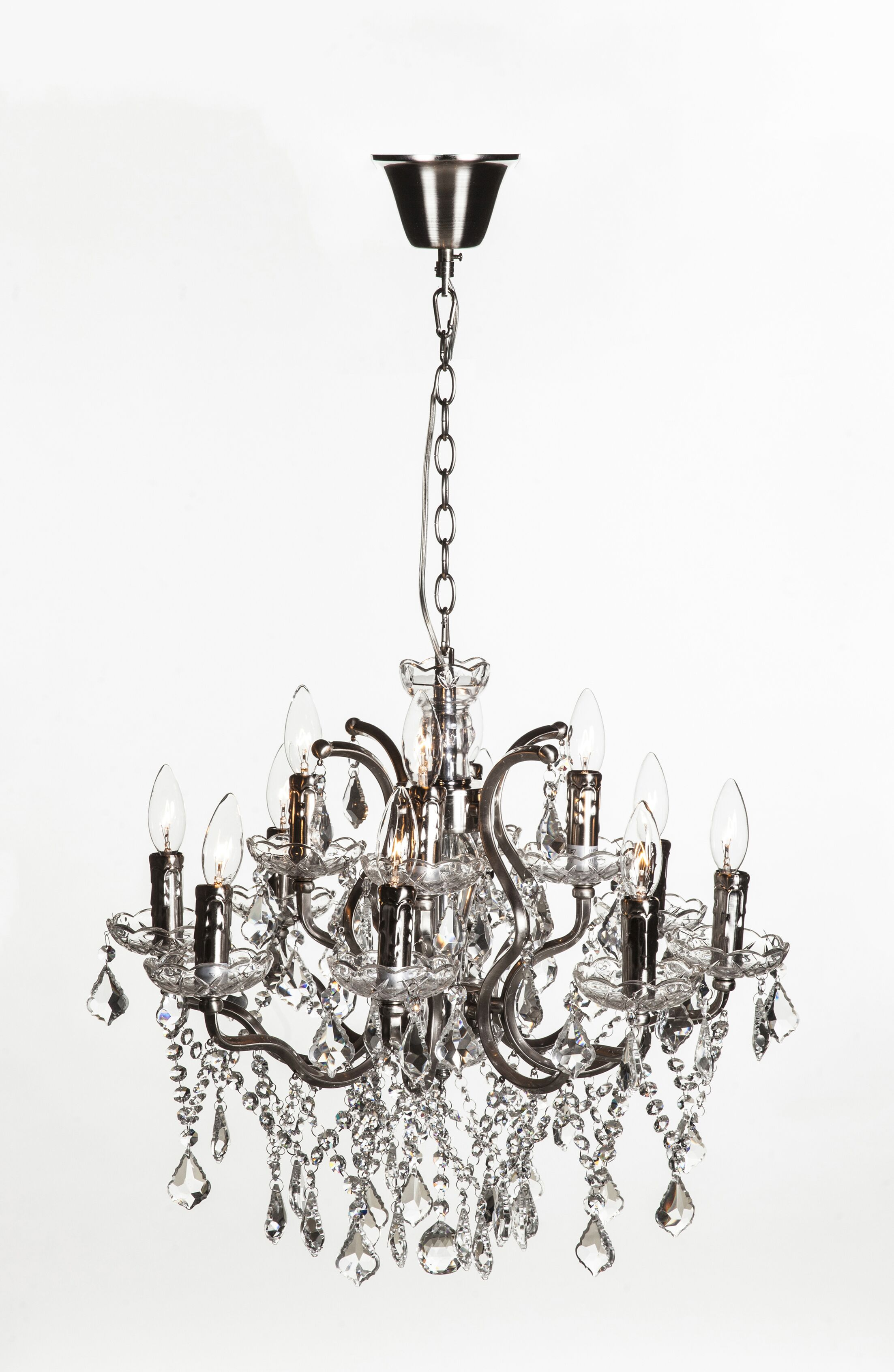 Halcyon 12-Light Candle Style Chandelier