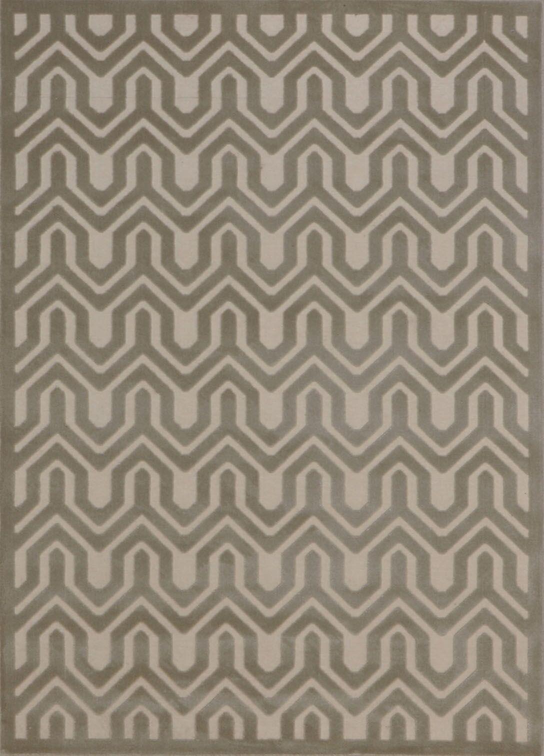 Zopyros Light Gray Area Rug Rug Size: Rectangle 5'3