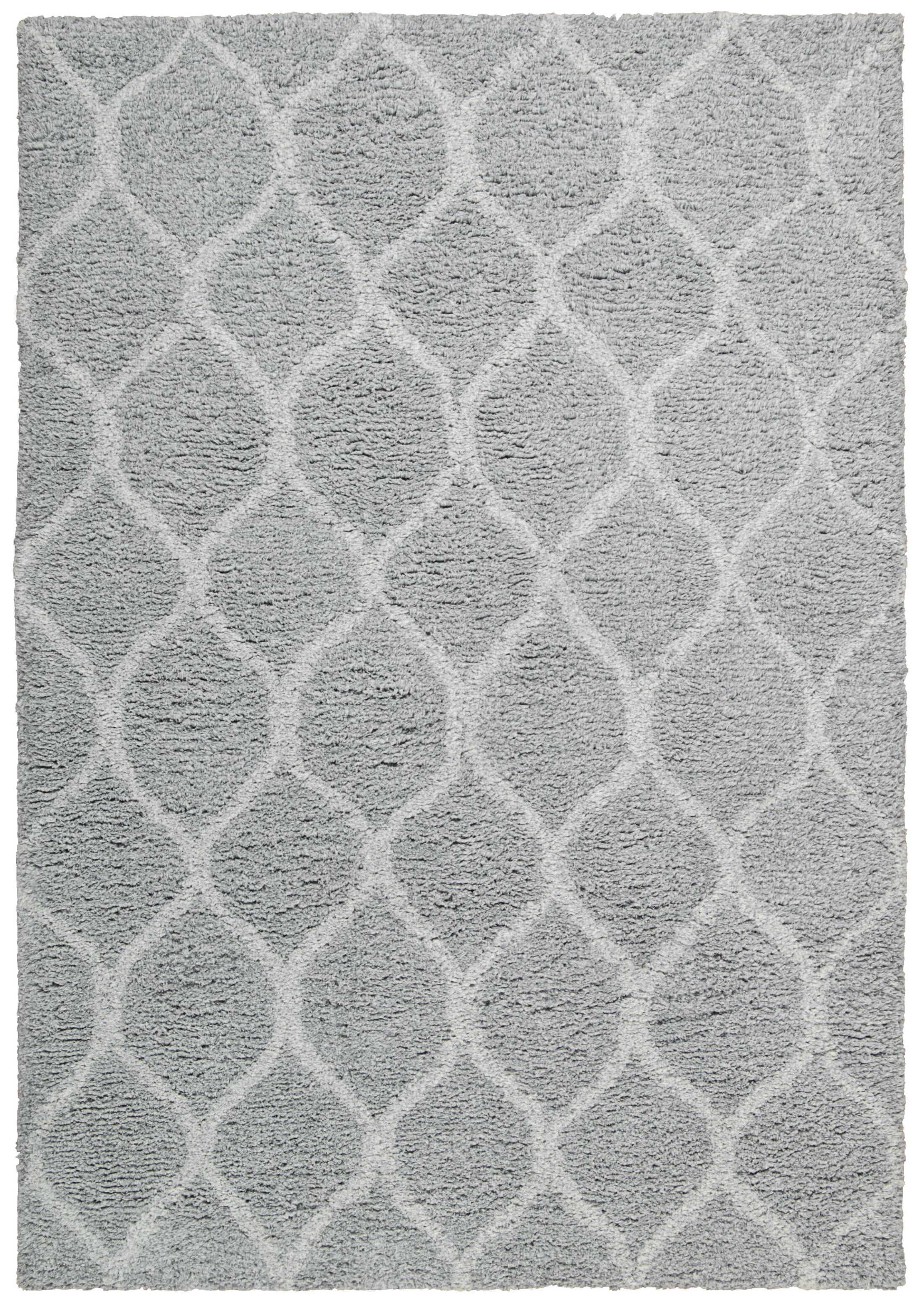 Searcy Hand-Tufted Gray Area Rug Rug Size: Rectangle 5' x 7'