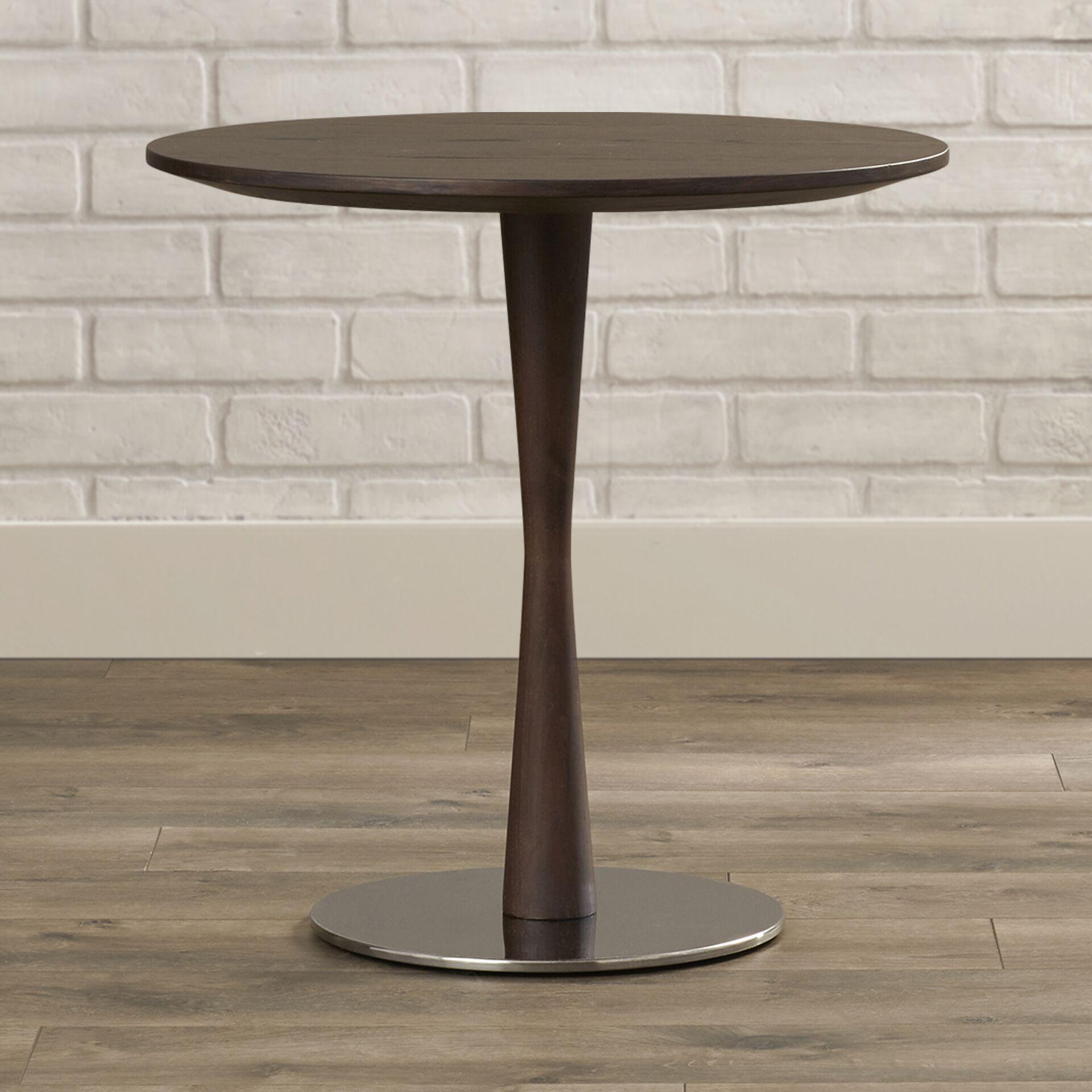 Erastos End Table Color: Brown Oak