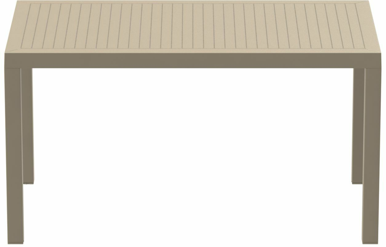 Nevarez Plastic Dining Table Color: Dove Gray