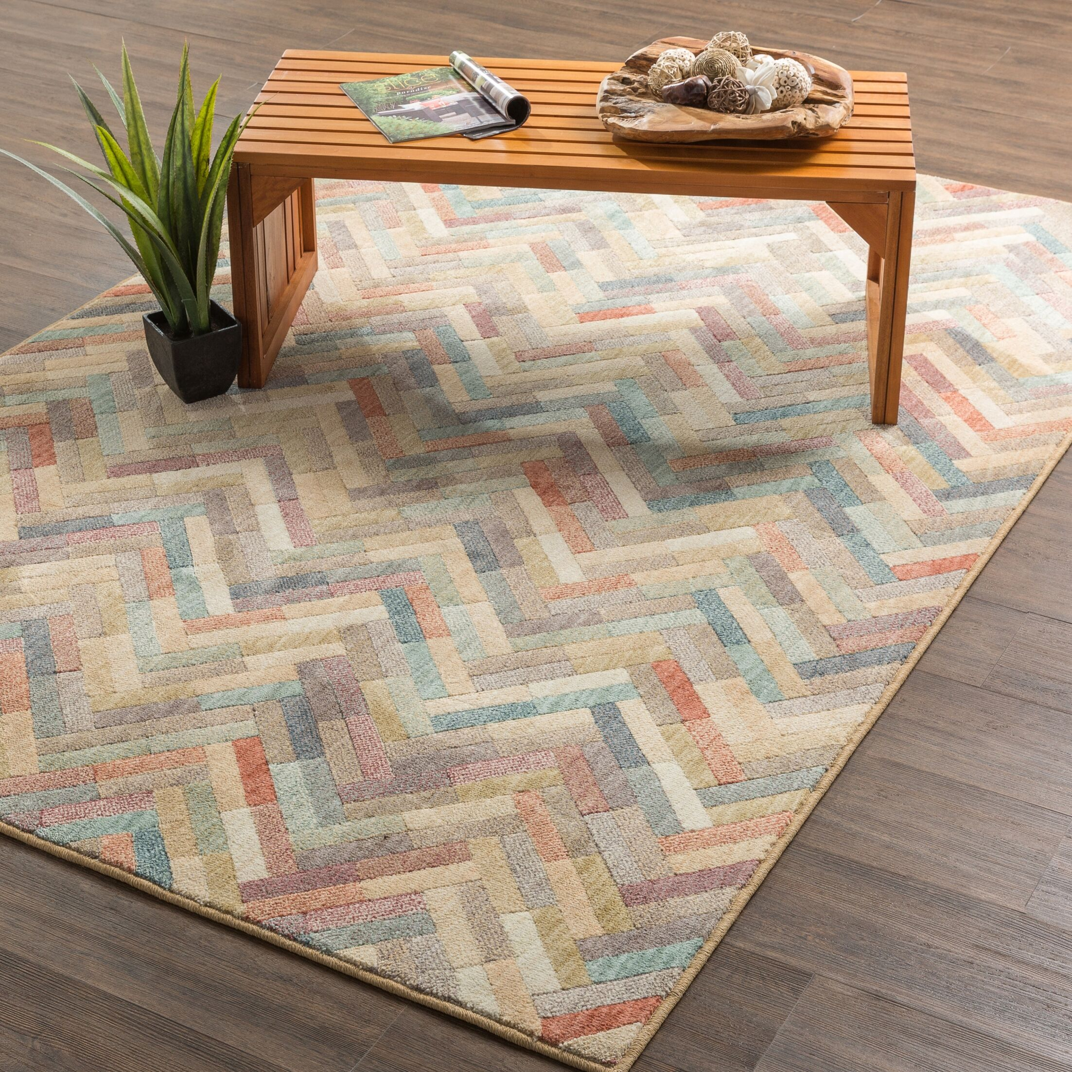 Arbogast Tan Area Rug Rug Size: Rectangle 8' x 11'