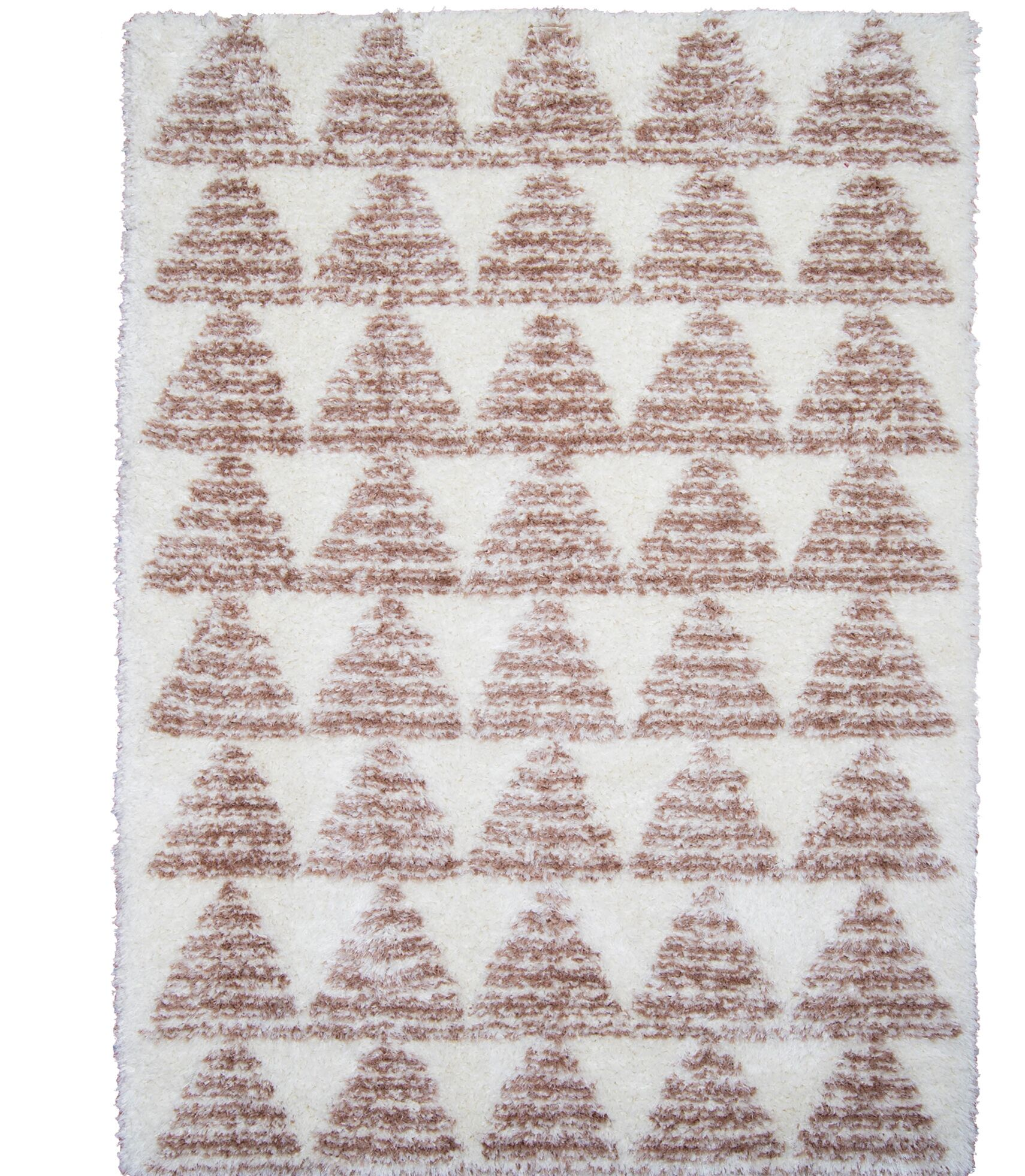 Abarca Brown Area Rug Rug Size: Rectangle 7'10