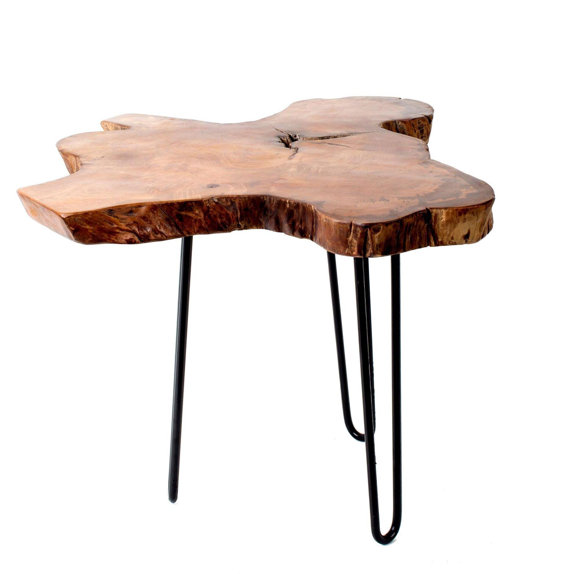 Mcmillan Wood Top End Table