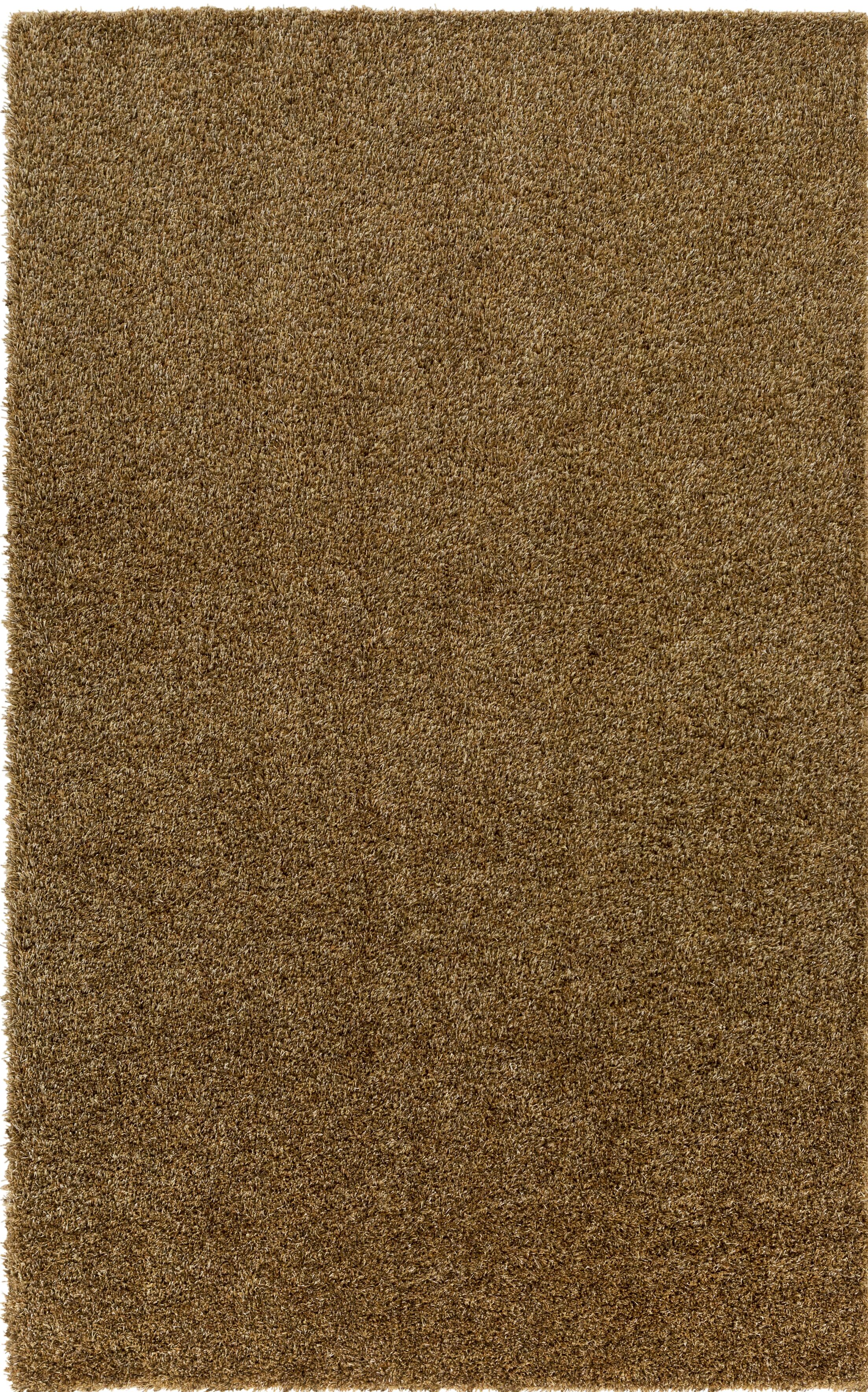 Dulcia Brown Area Rug Rug Size: Round 4'