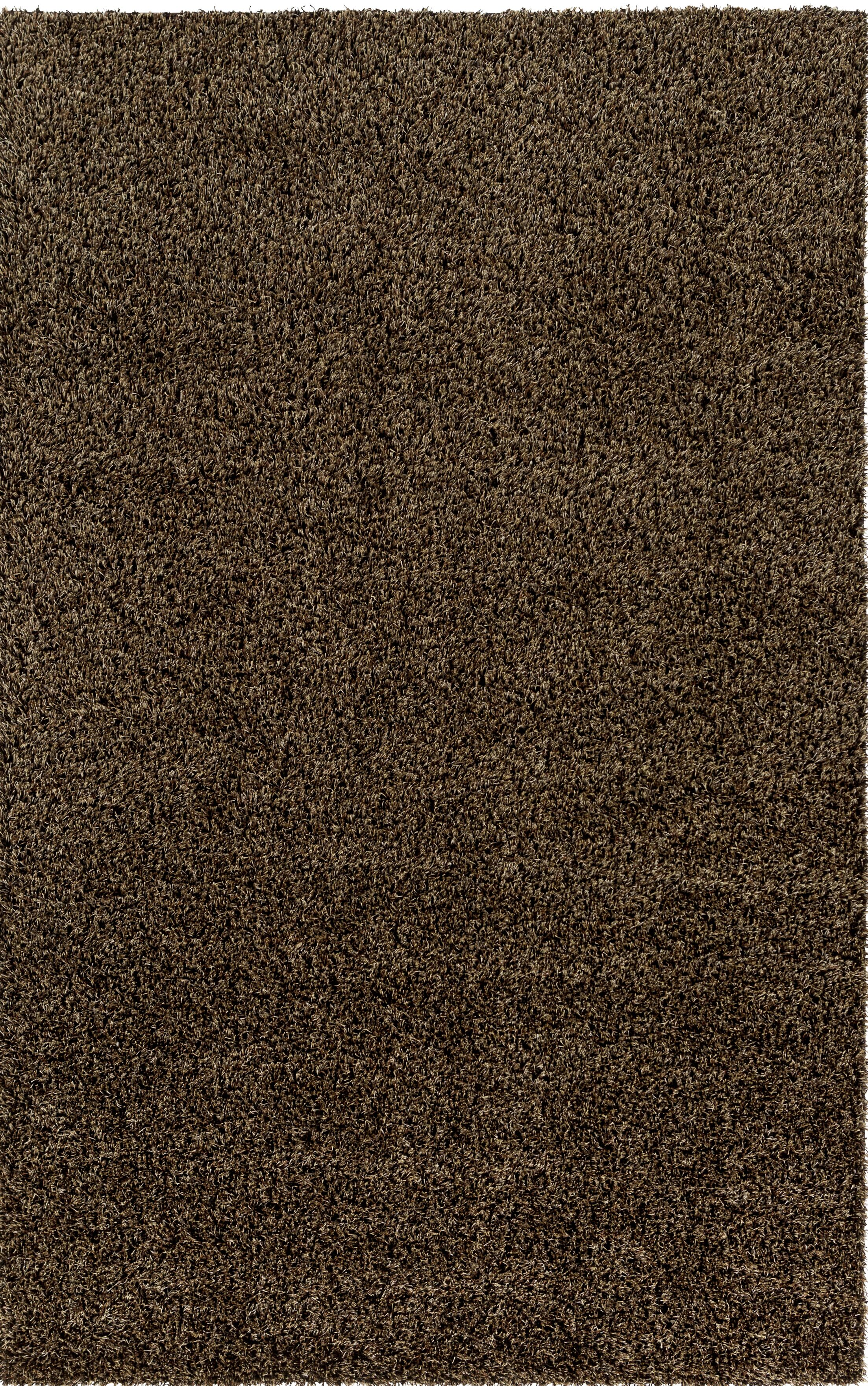 Brown Area Rug Rug Size: Square 4'