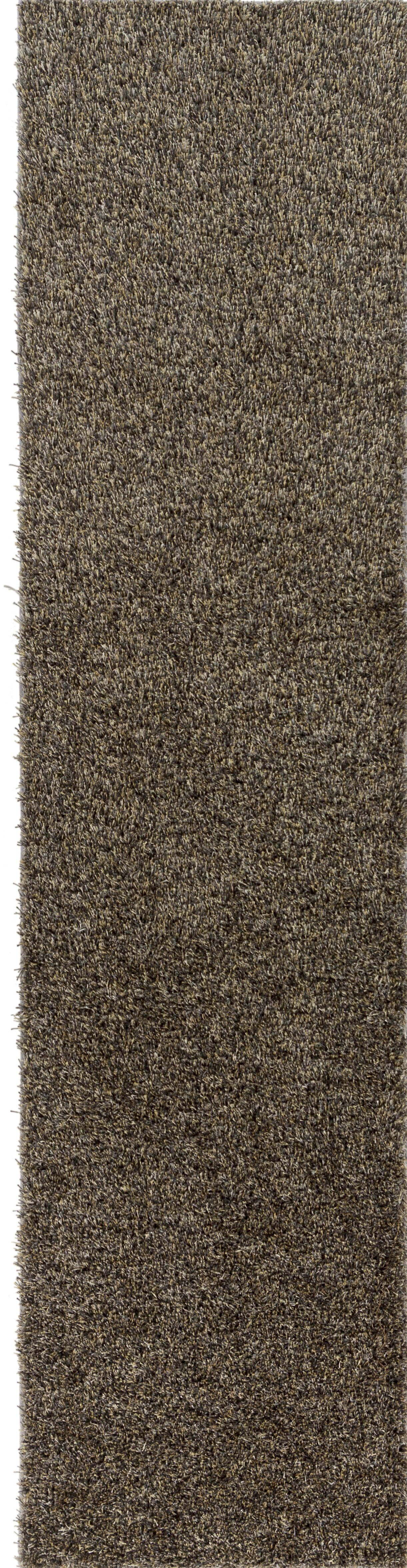 Dulcia Solid Gray Area Rug Rug Size: Runner 2' x 10'