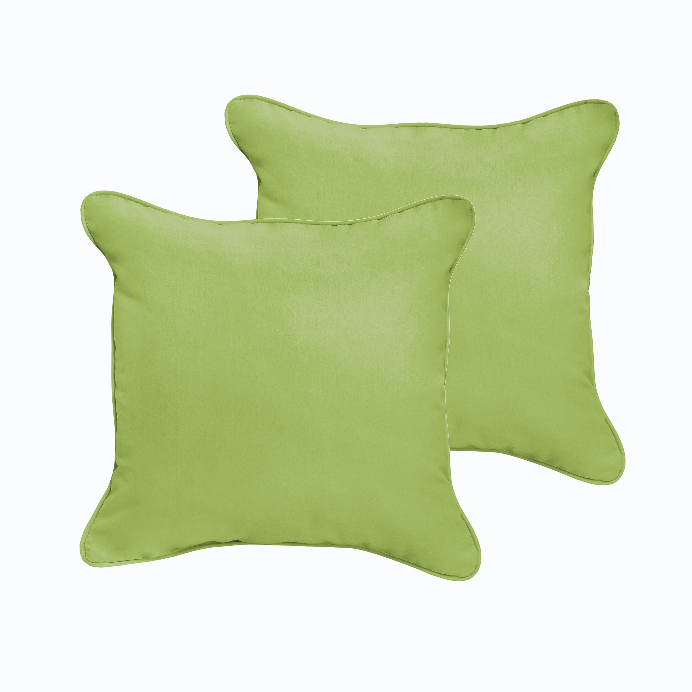 Branan Indoor/Outdoor Throw Pillow Color: Teal, Size: 22