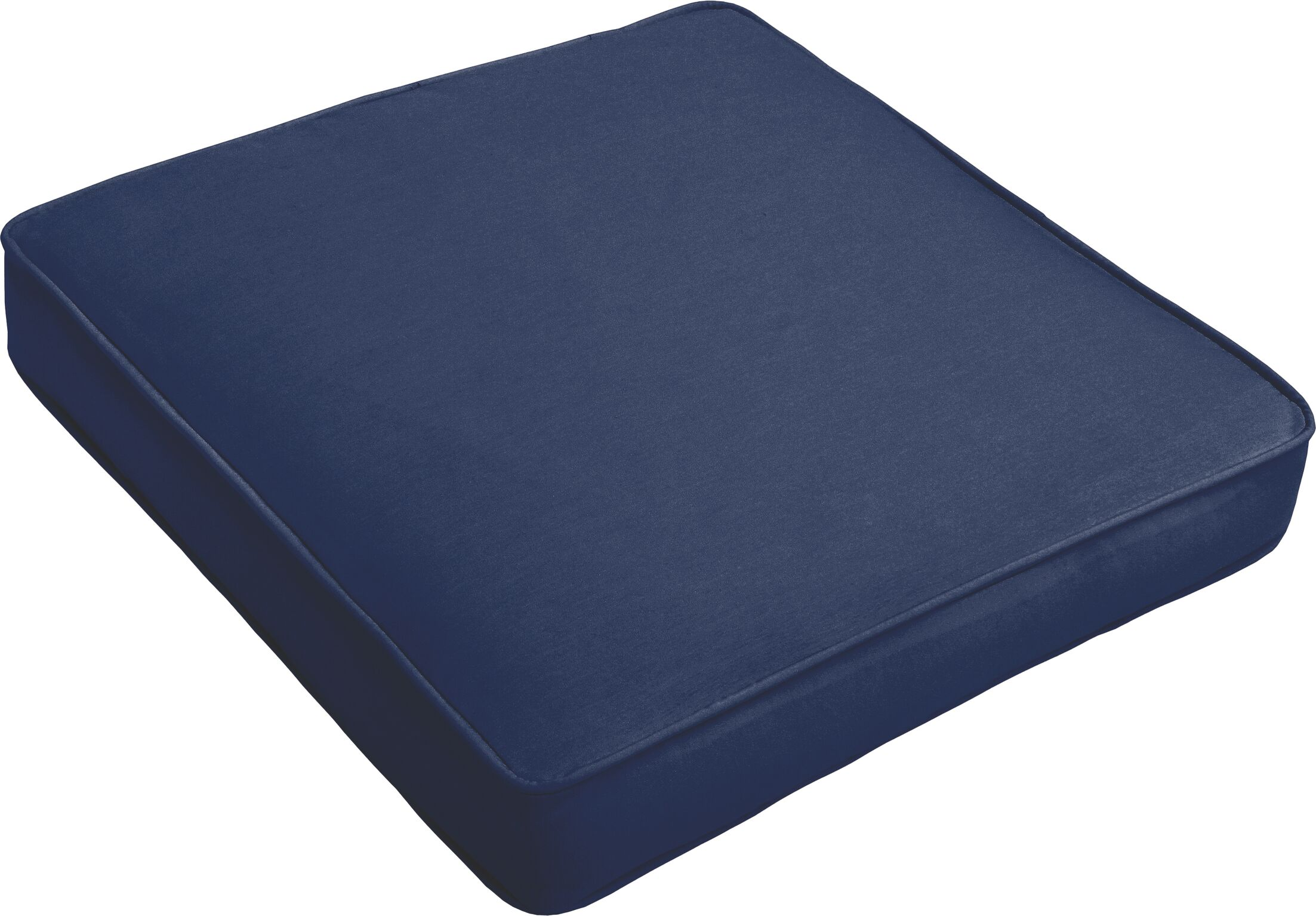 Indoor/Outdoor Dining Chair Cushion Fabric: Dark Blue