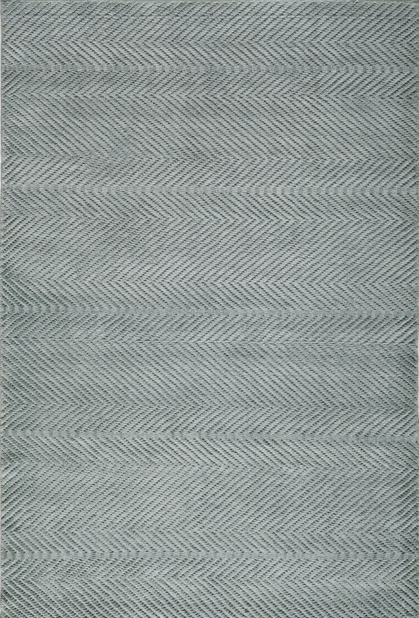 Bridges Hand-LoomedSeafoam Area Rug Rug Size: Rectangle 5' x 8'
