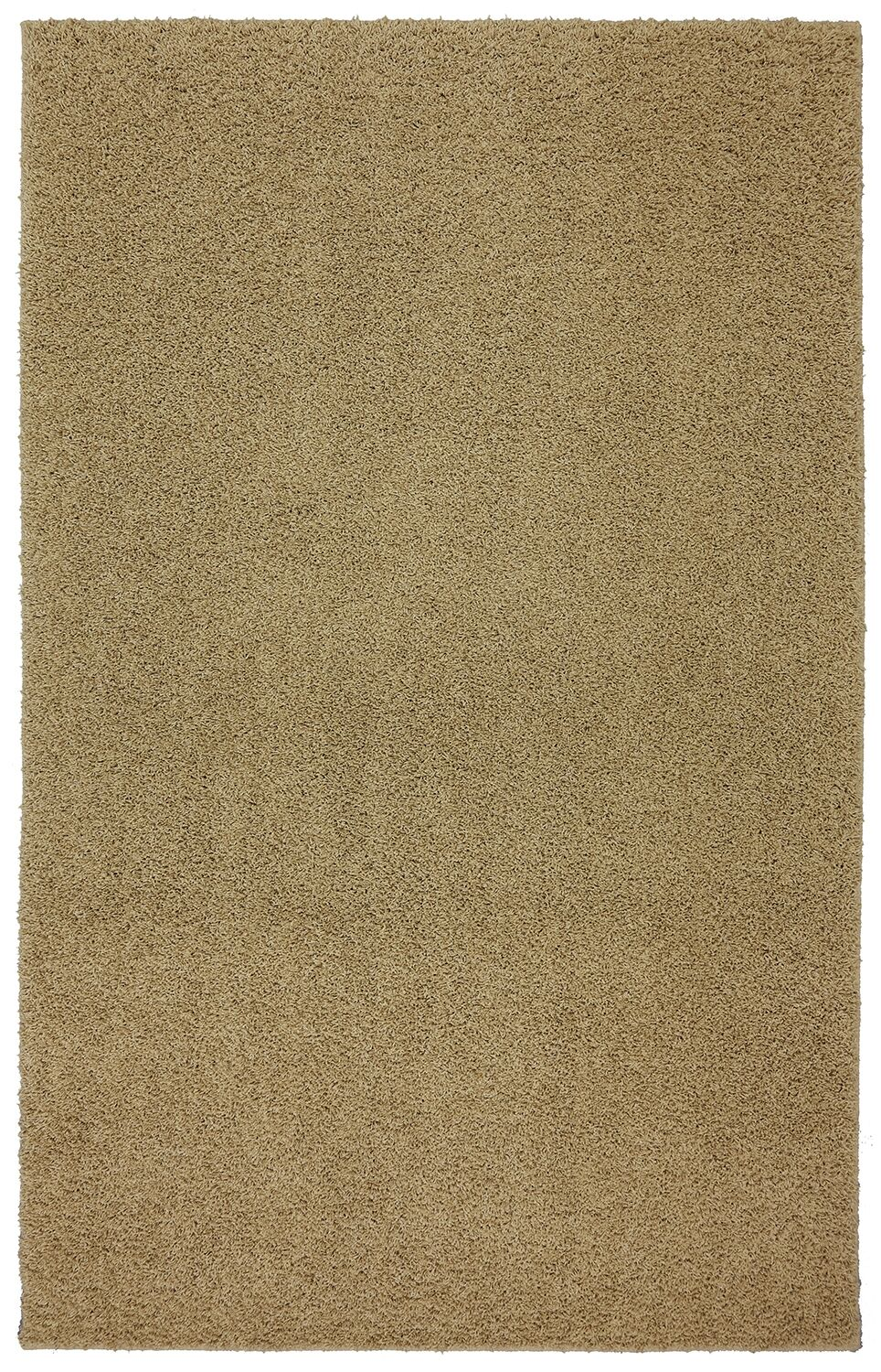 Larmon Bolster Shag Kings Gold Tufted Area Rug Rug Size: Rectangle 5' x 8'