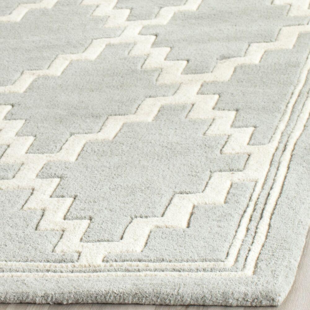 Wilkin Hand-Tufted Wool Gray Rug Rug Size: Rectangle 6' x 9'