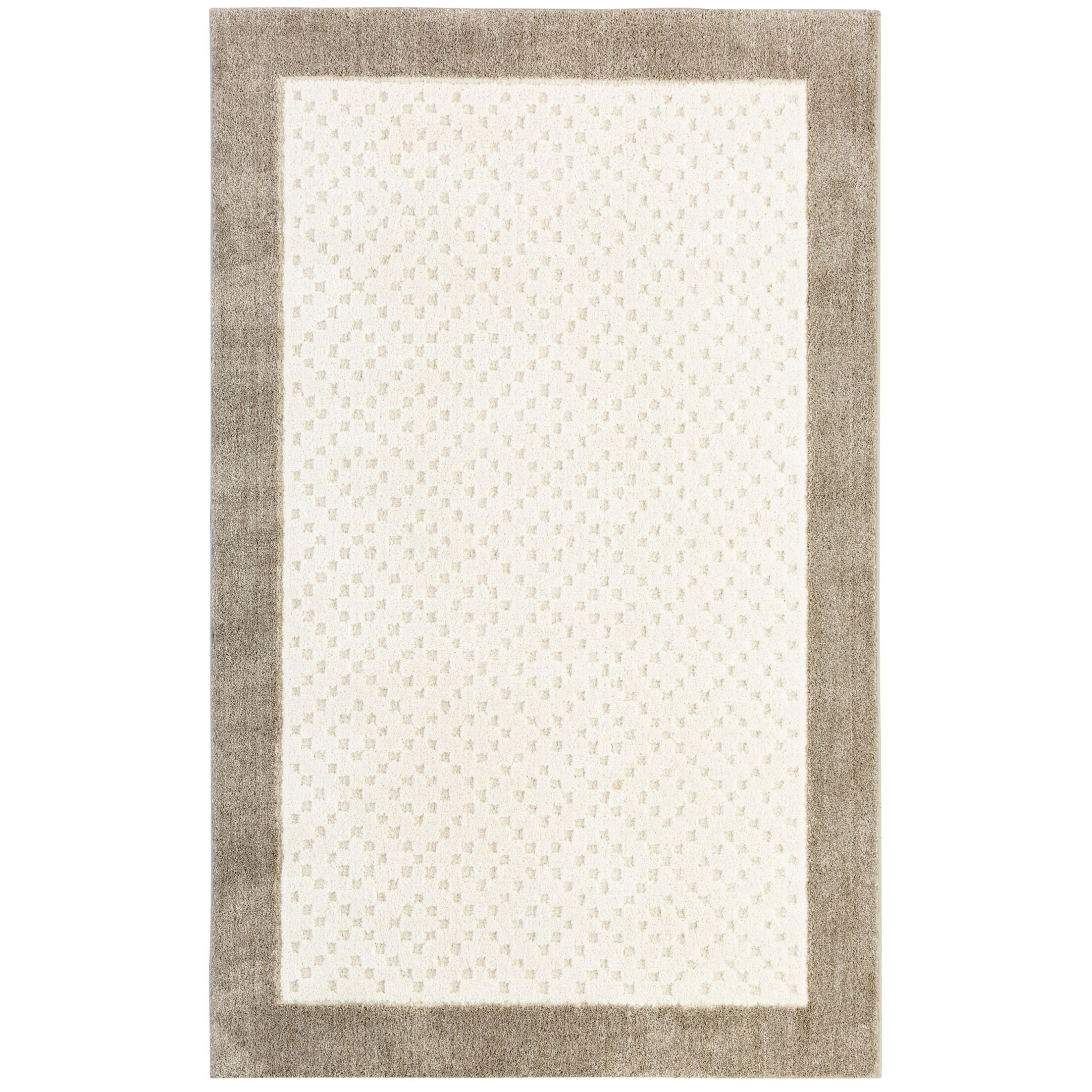 Braydon Beige Area Rug Rug Size: Rectangle 5'x8'