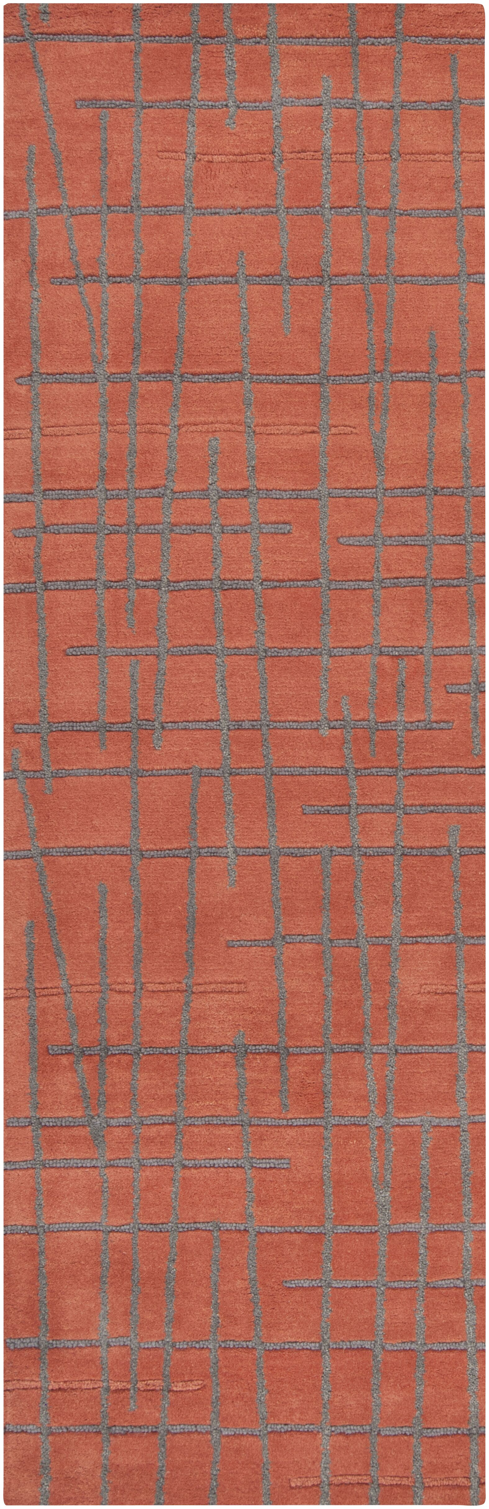Major Red Clay Area Rug Rug Size: Rectangle 3'3