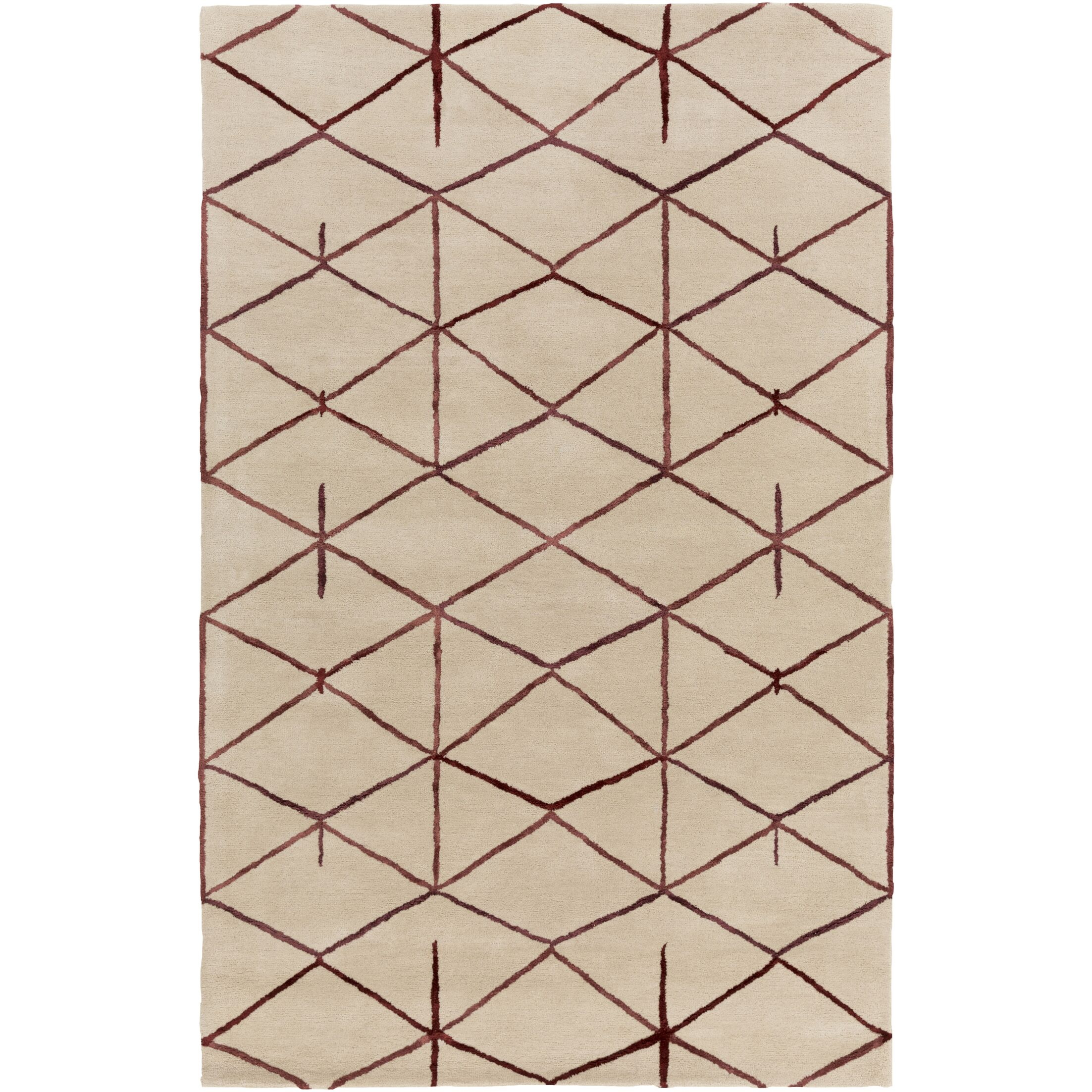 Romola Hand-Tufted Area Rug Rug Size: Runner 2'6