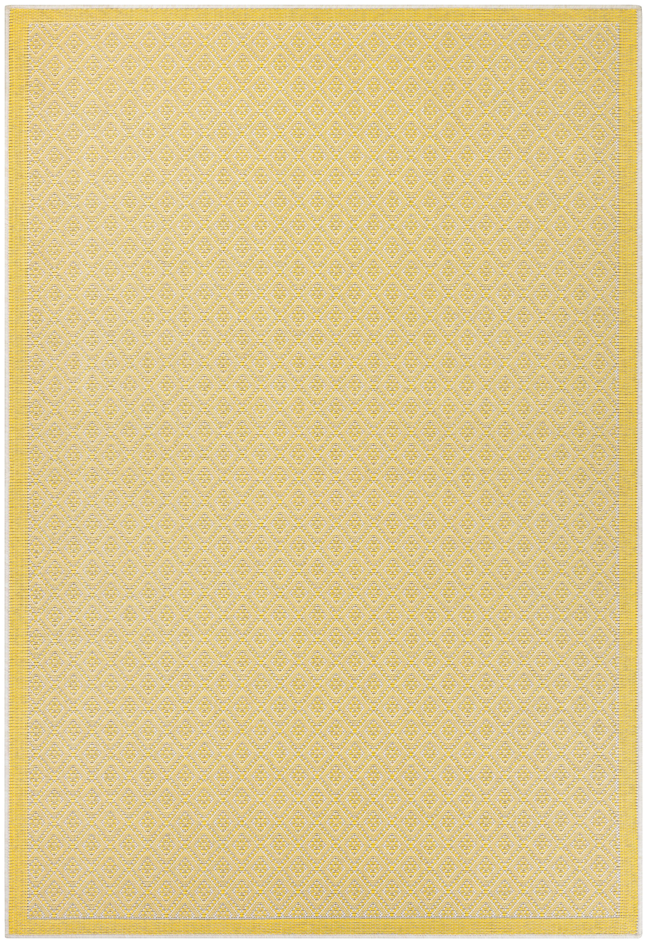 Shackelford Yellow Indoor/Outdoor Area Rug Rug Size: Rectangle 5'3