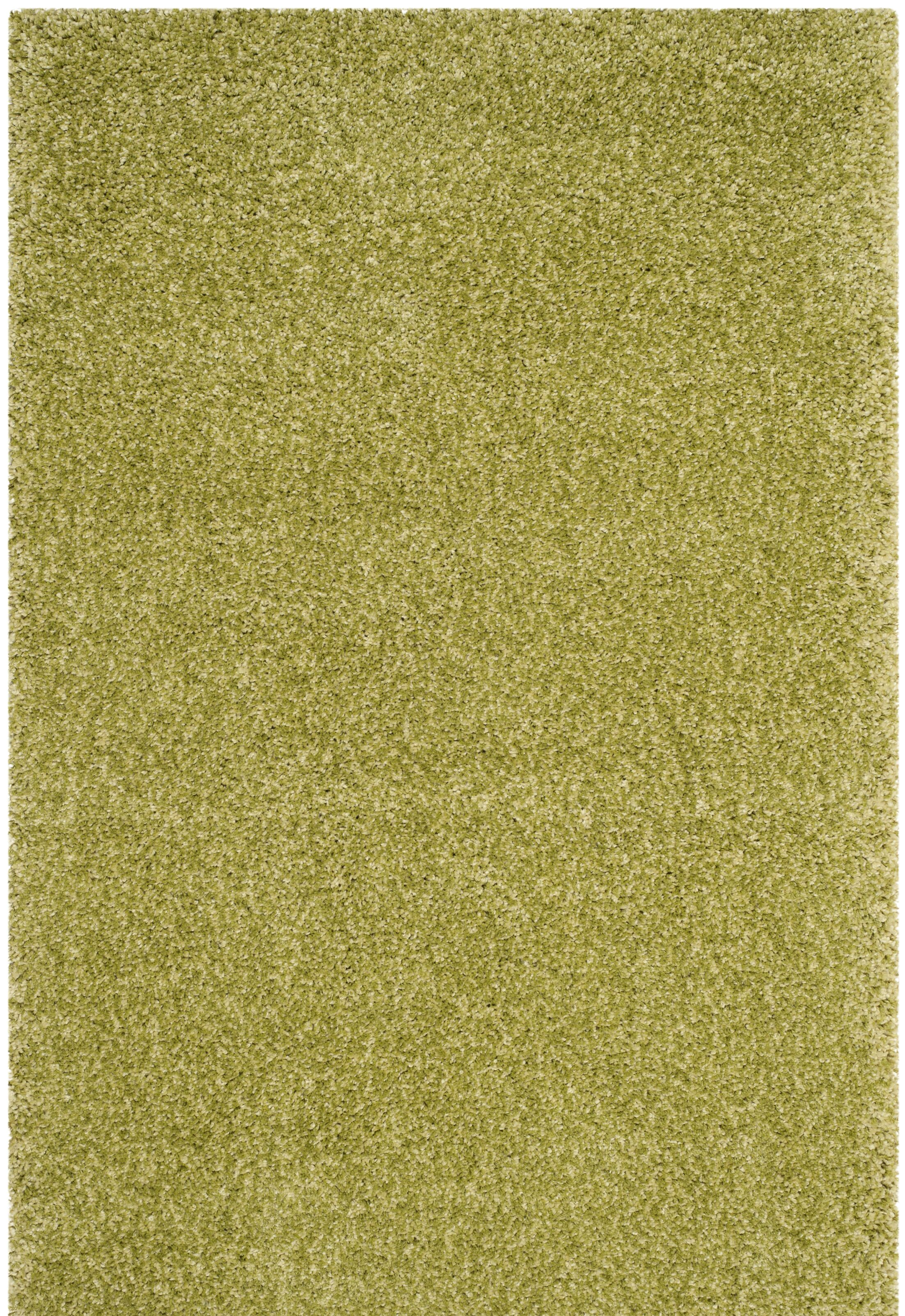 Brickner Green Area Rug Rug Size: 6'-7