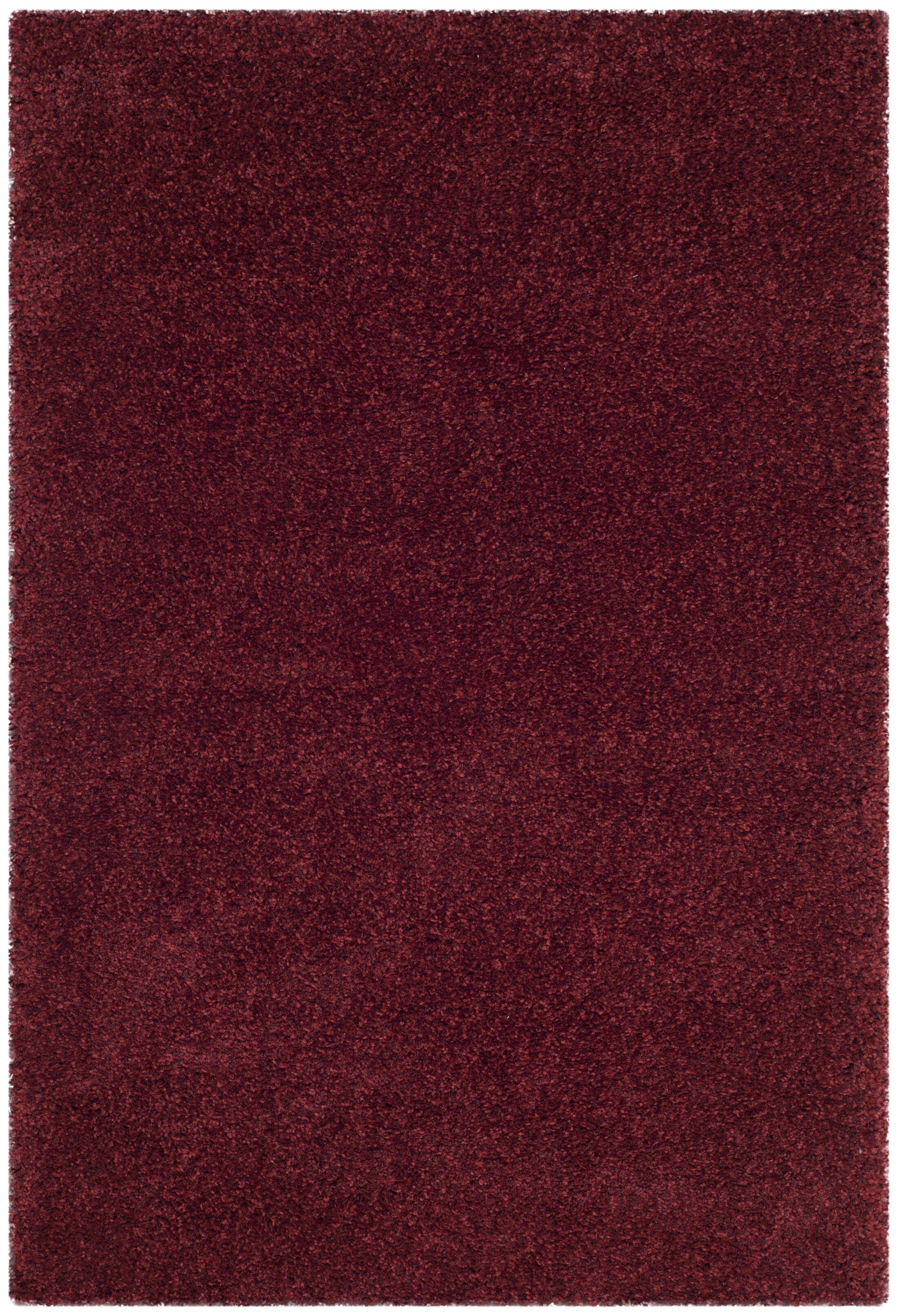 Brickner Red Area Rug Rug Size: Square 6'7
