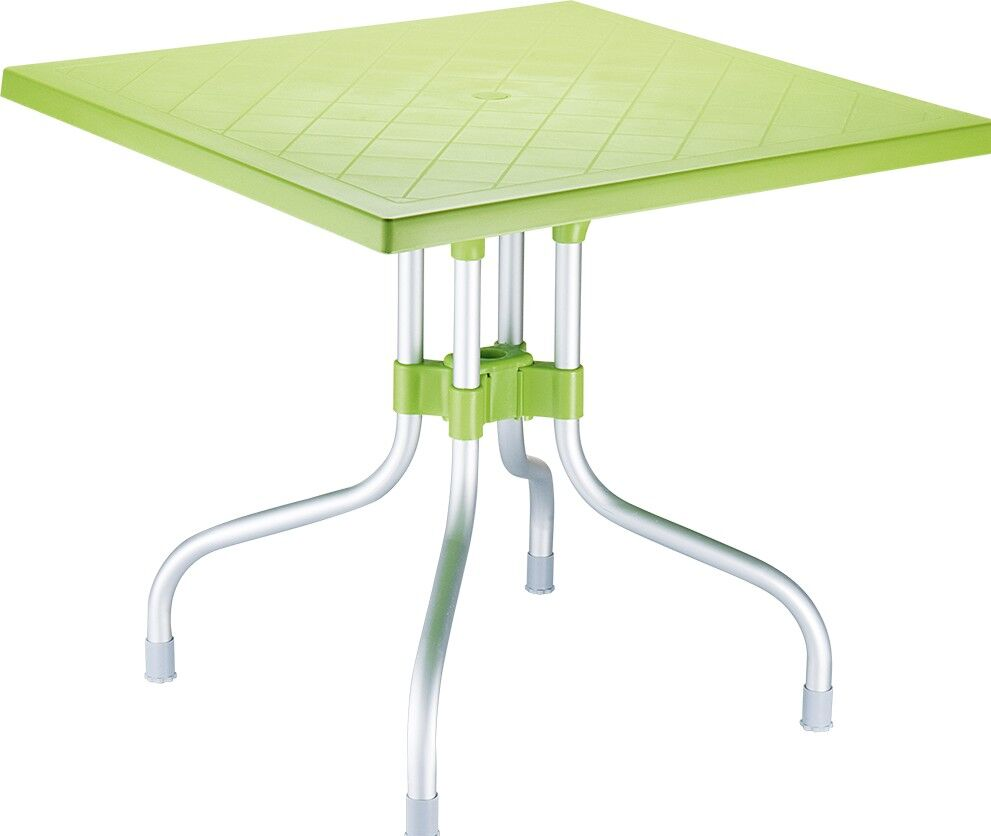 Buerger Square Folding Bistro Table Finish: Apple Green
