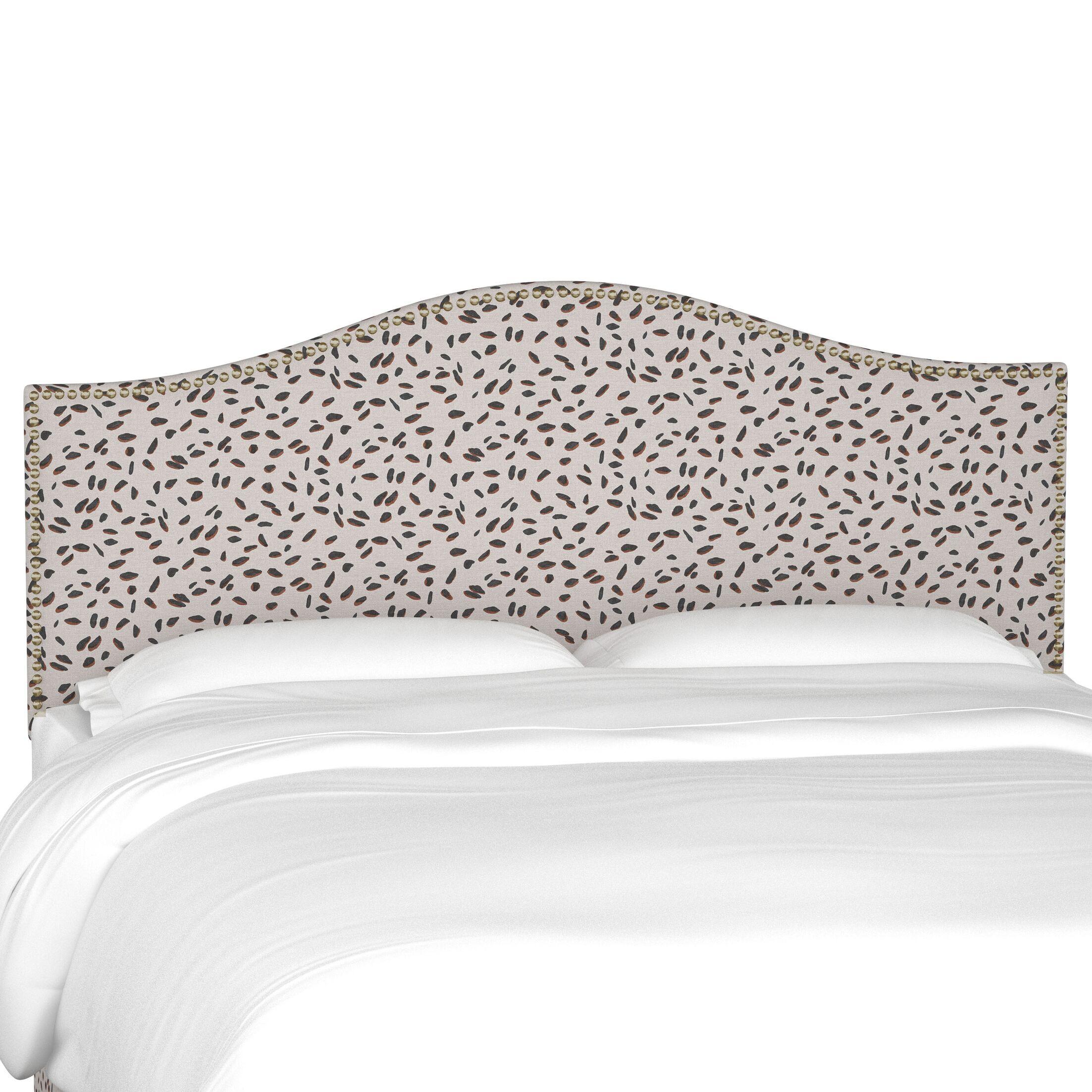 Merrell Upholstered Panel Headboard Size: King