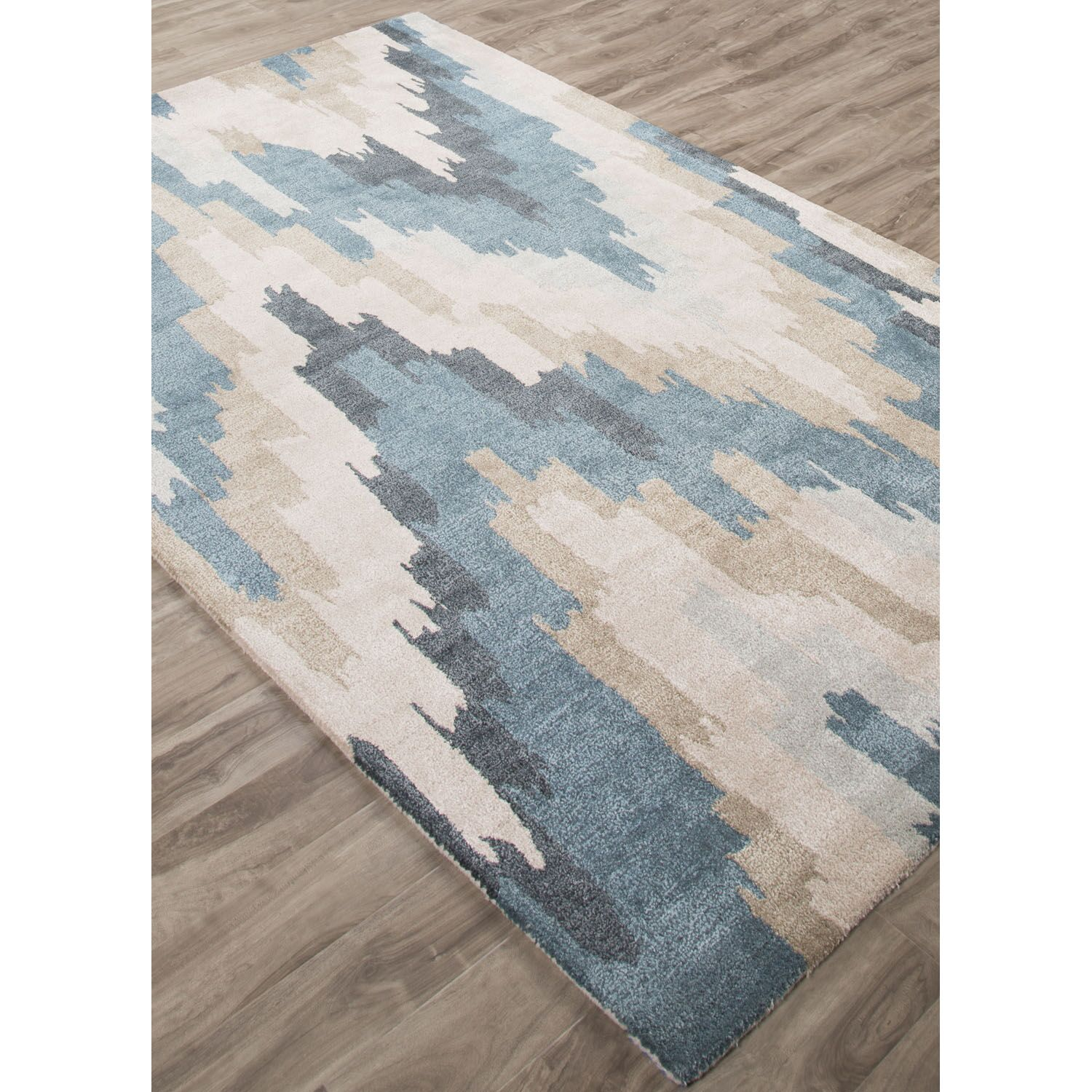 Valtierra Hand-Tufted Blue Area Rug Rug Size: Rectangle 5' x 8'