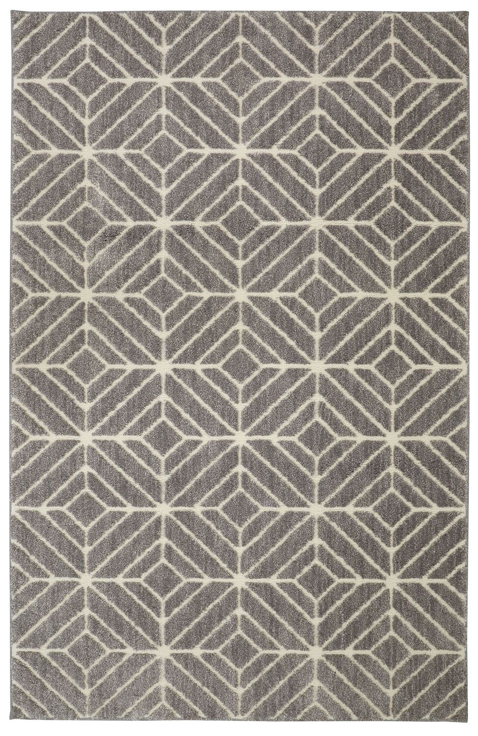 Braydon Quilted Geo Beige/Tan Area Rug Rug Size: Rectangle 5' x 7'