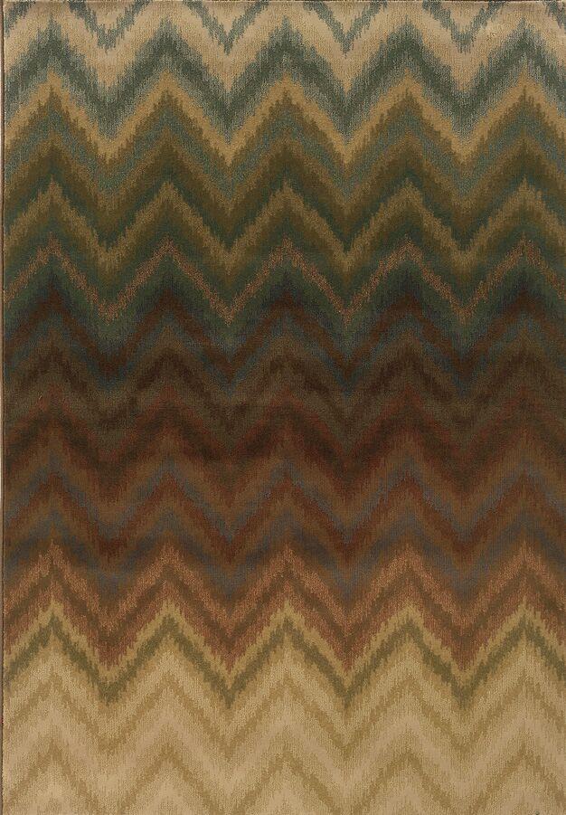 Vandiver Brown Area Rug Rug Size: Rectangle 7'8