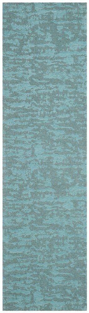 Holsworth Hand-Woven Blue Area Rug Rug Size: Runner 2'3