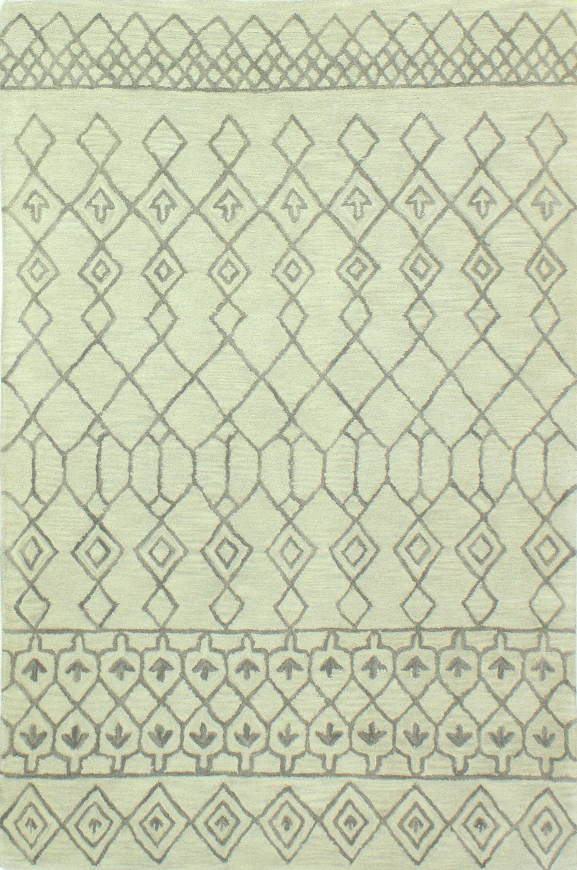 Bielecki Hand-Tufted Area Rug Rug Size: 8'6