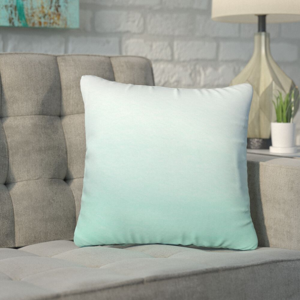 Grandin Ombre Throw Pillow Size: Small